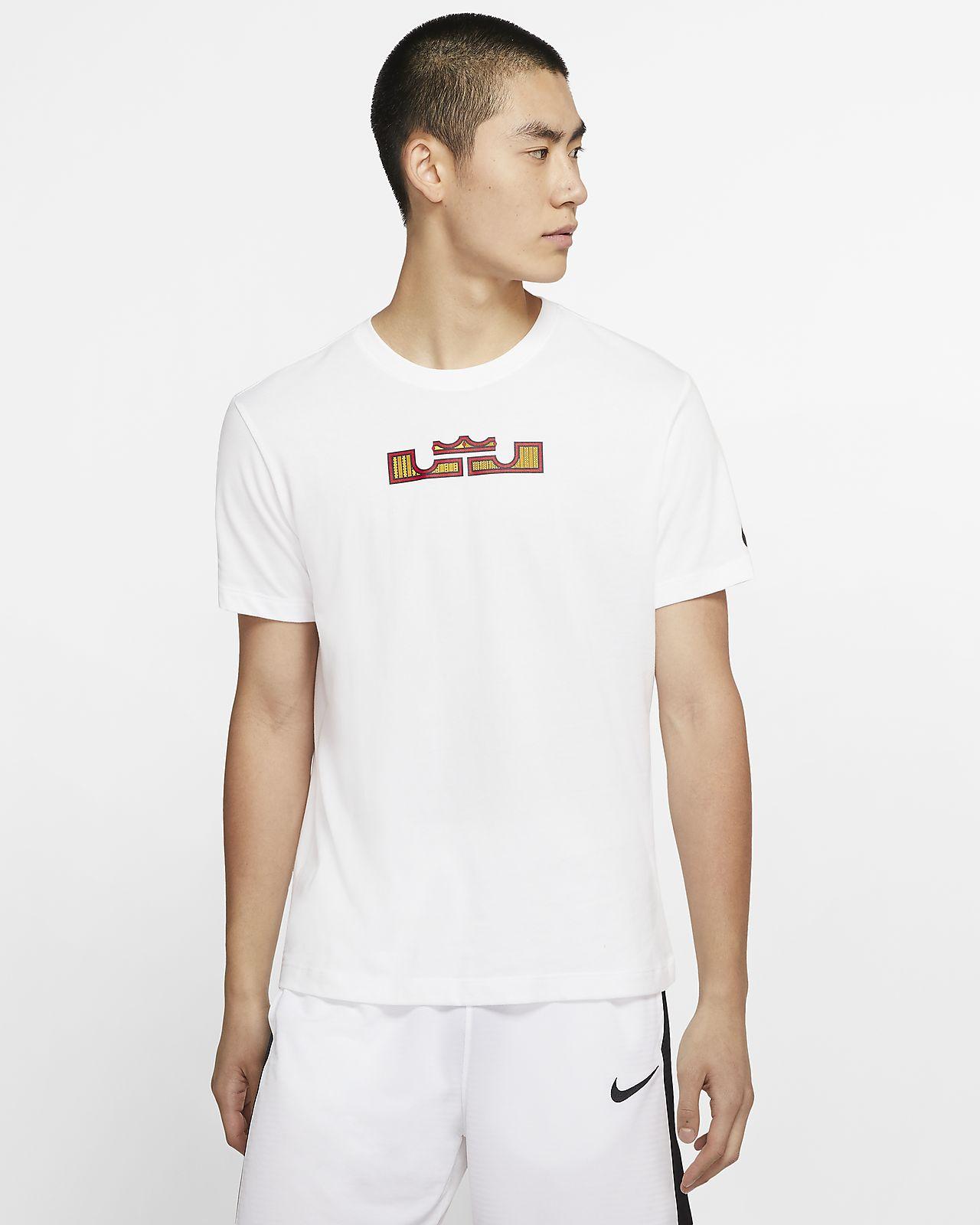 ナイキ Dri-FIT レブロン ロゴ バスケットボール Tシャツ