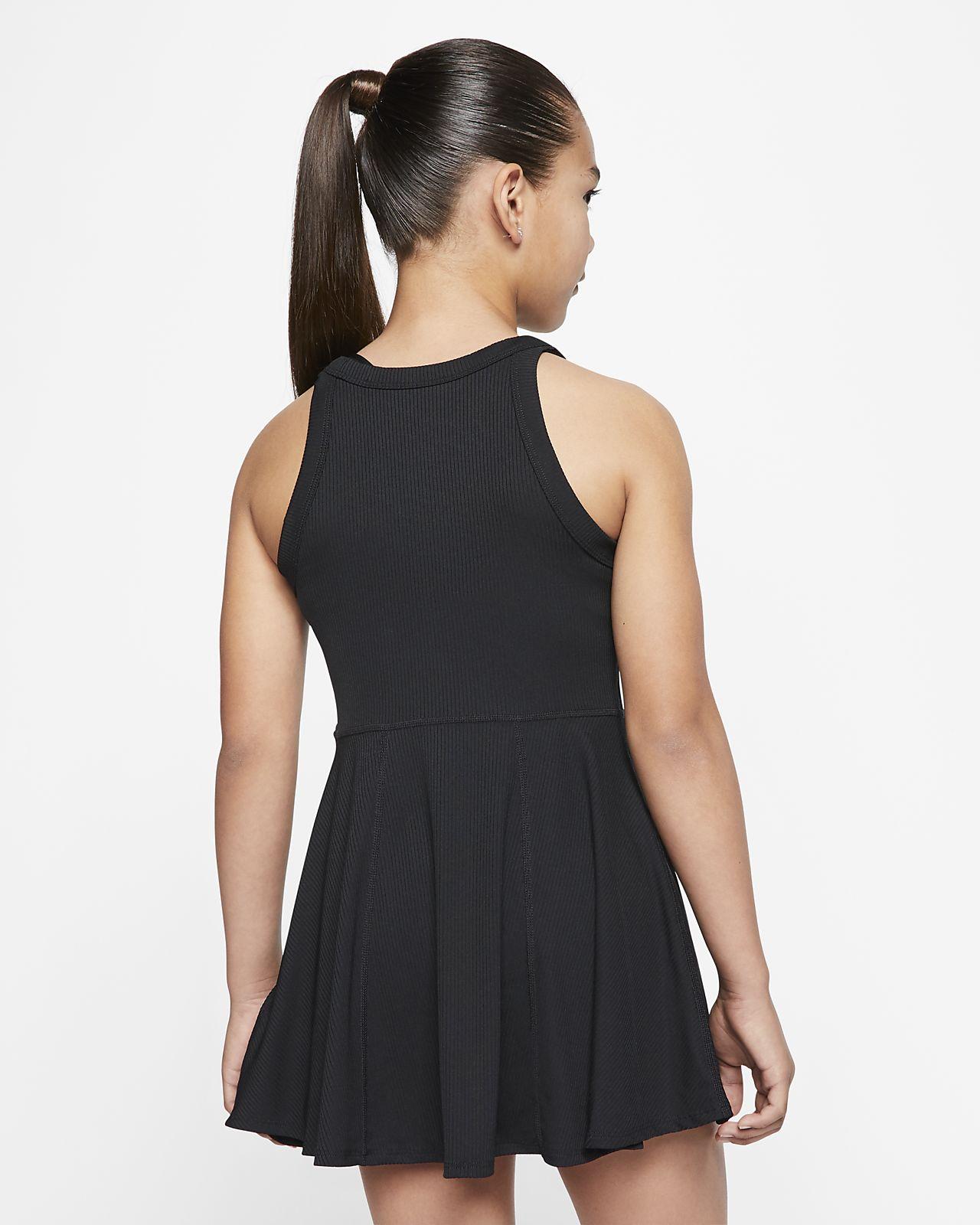 NikeCourt Dri FIT Girls' Tennis Dress