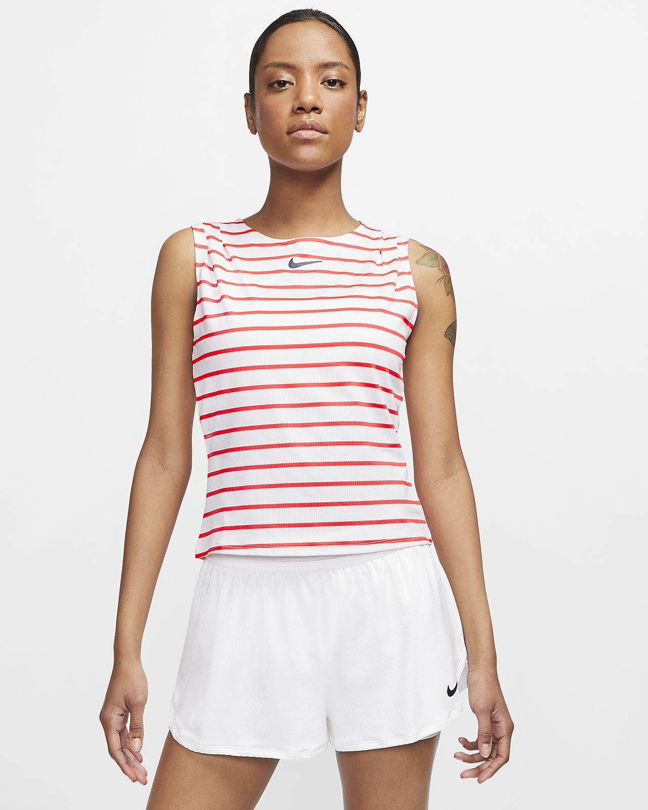 Damska koszulka bez rękawów do tenisa NikeCourt Dri-FIT Maria