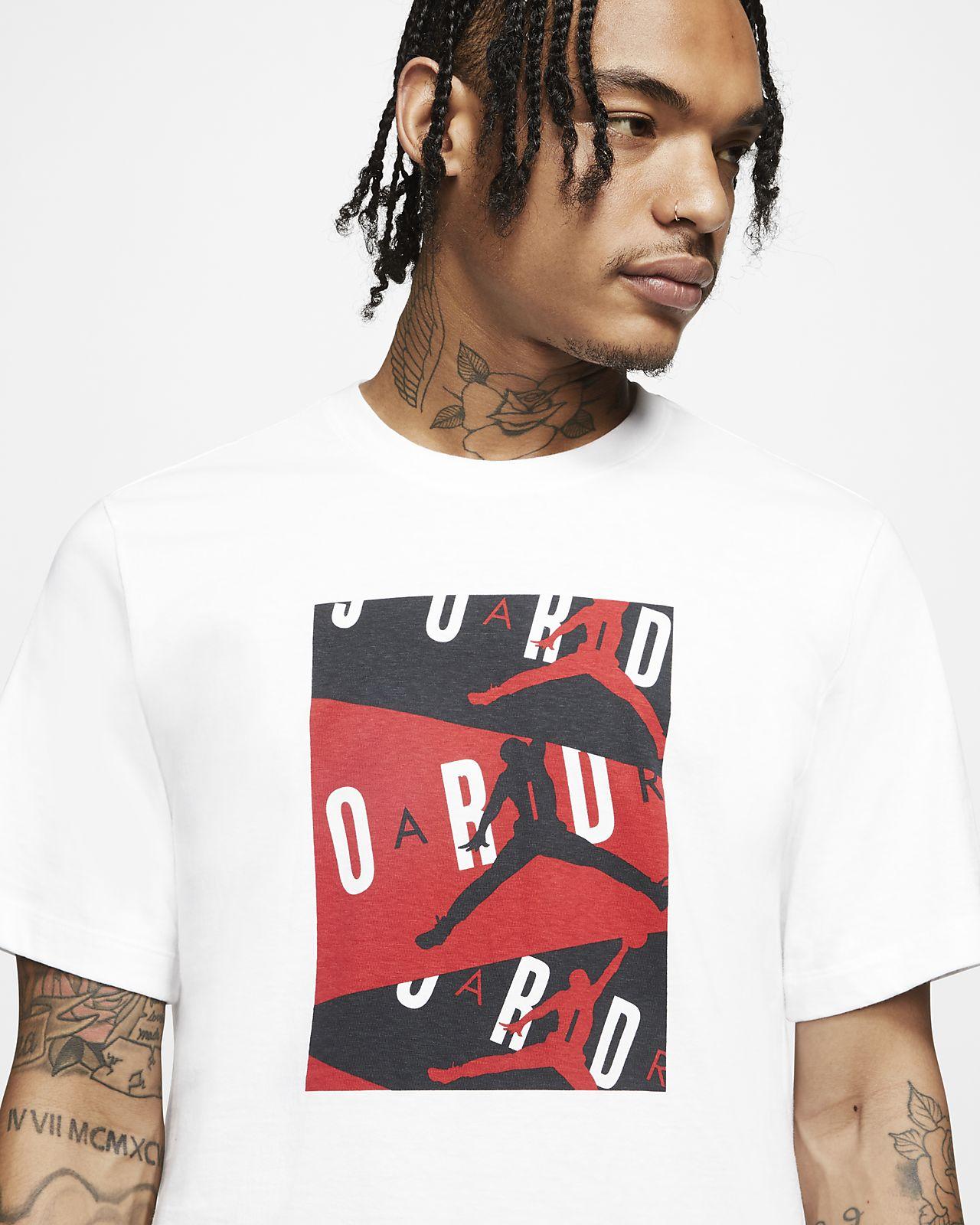 Jordan «Air» T skjorte til herre. Nike NO