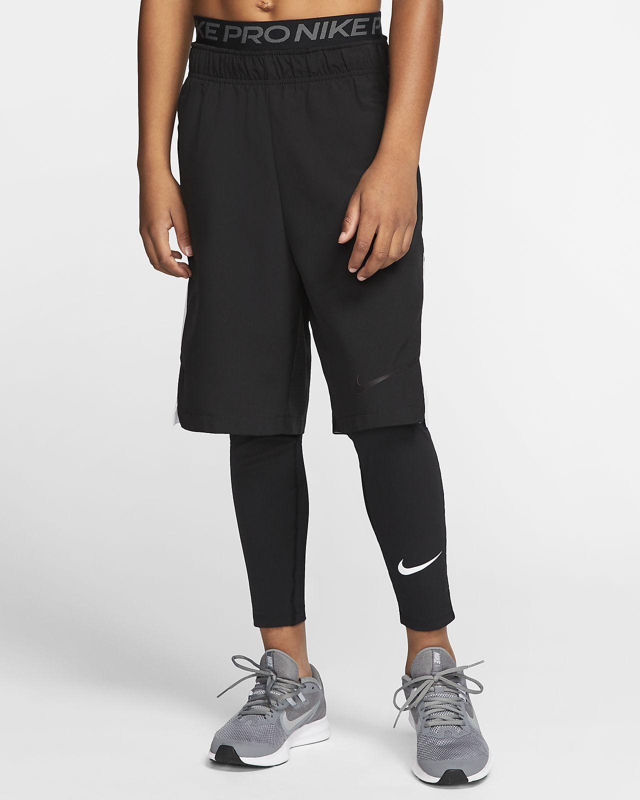 Nike Pro 大童 (男童) 緊身褲