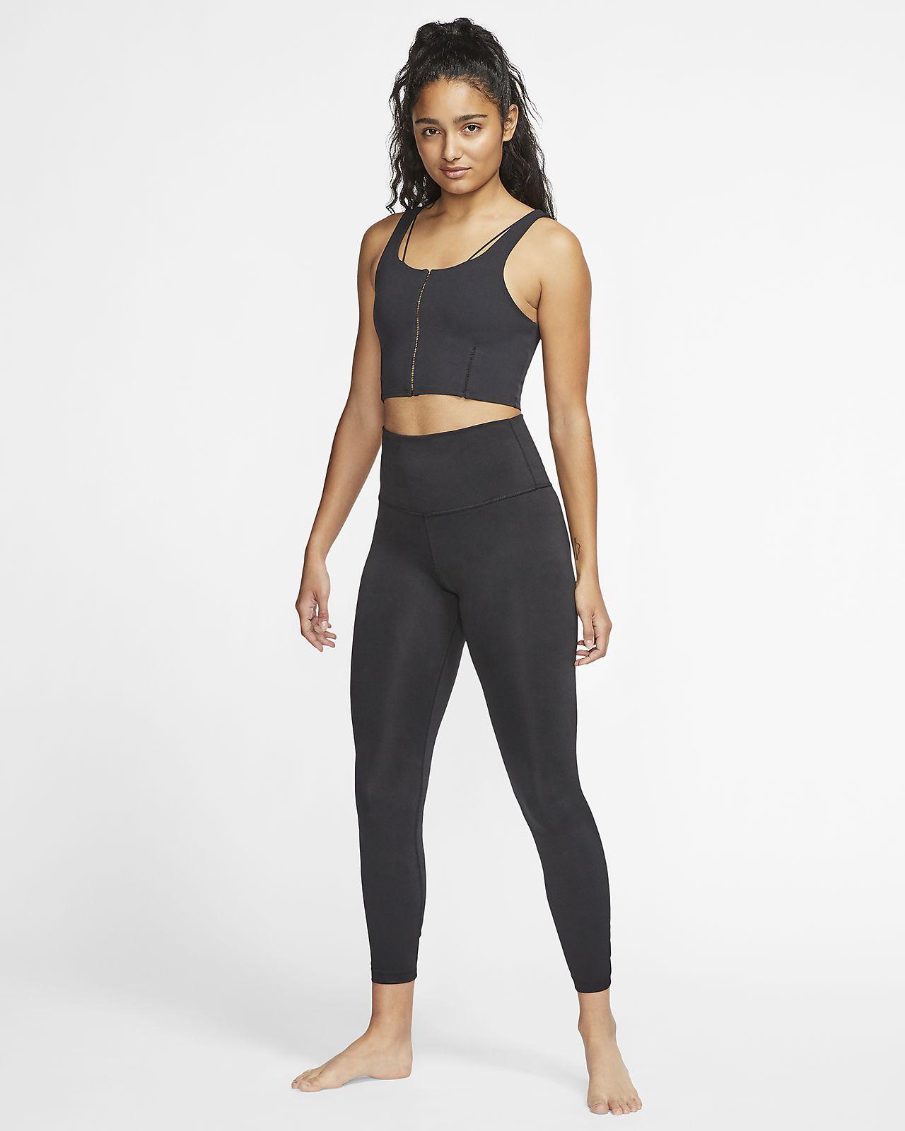 Sweat à capuche court Nike Yoga Luxe pour Femme. Nike FR