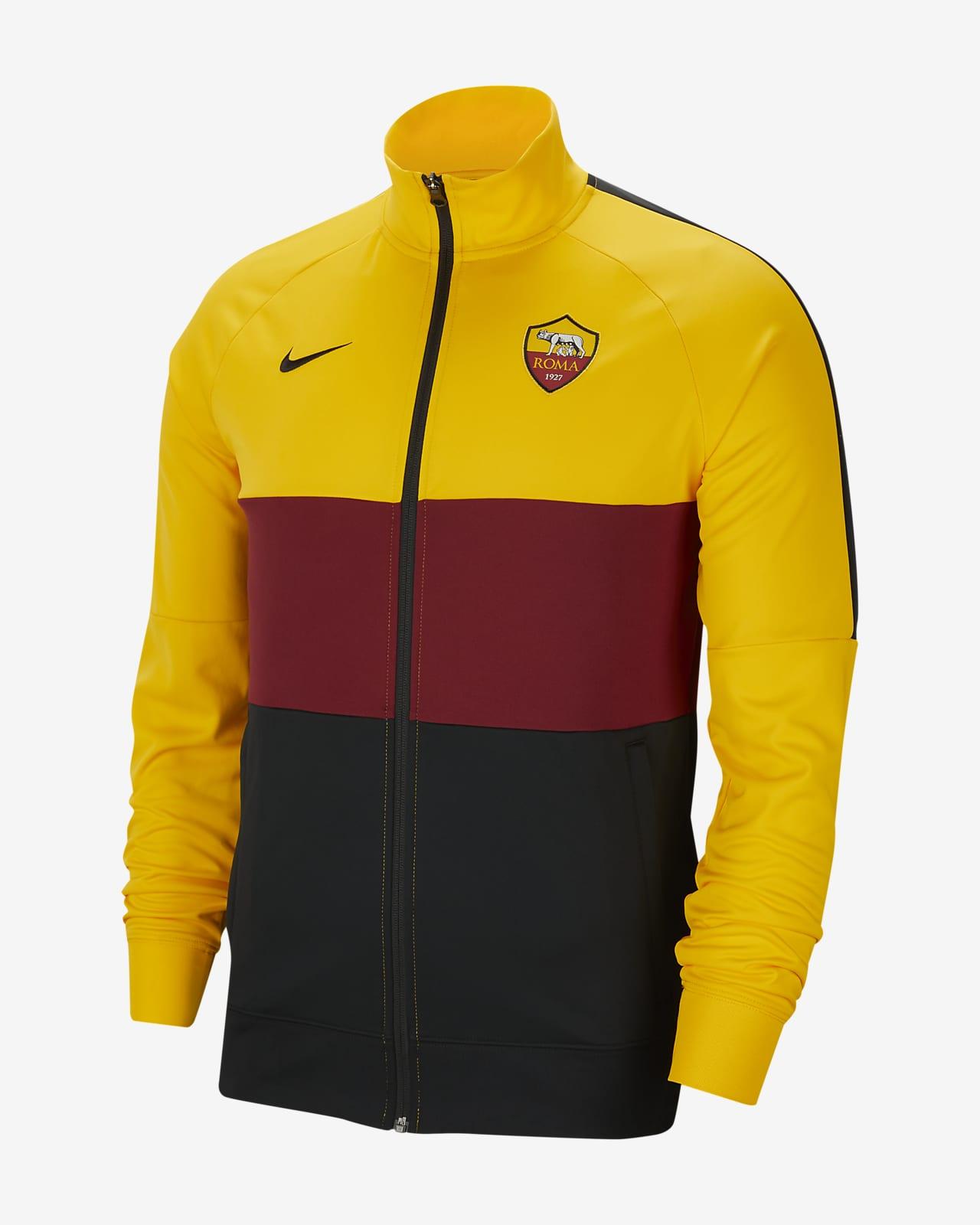 AS Roma Men's Football Track Jacket