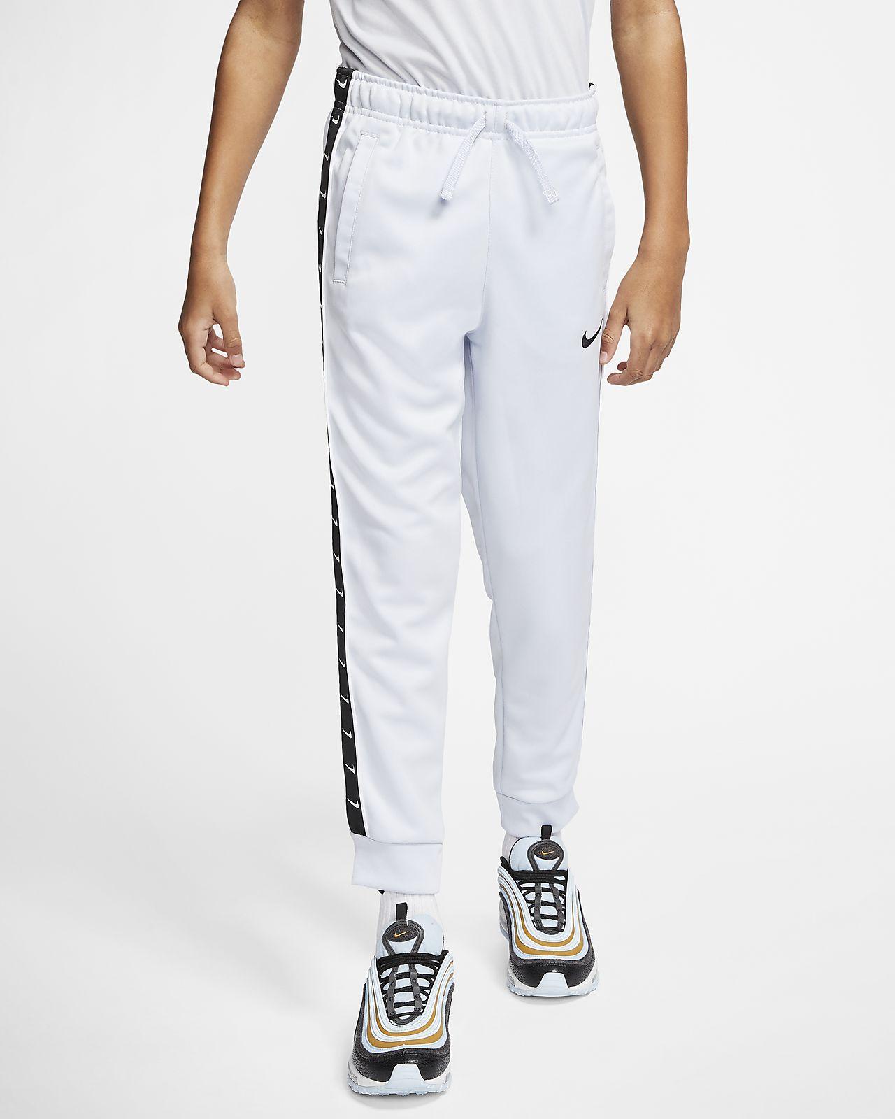 Pantalones de entrenamiento para niños talla grande Nike Sportswear Swoosh