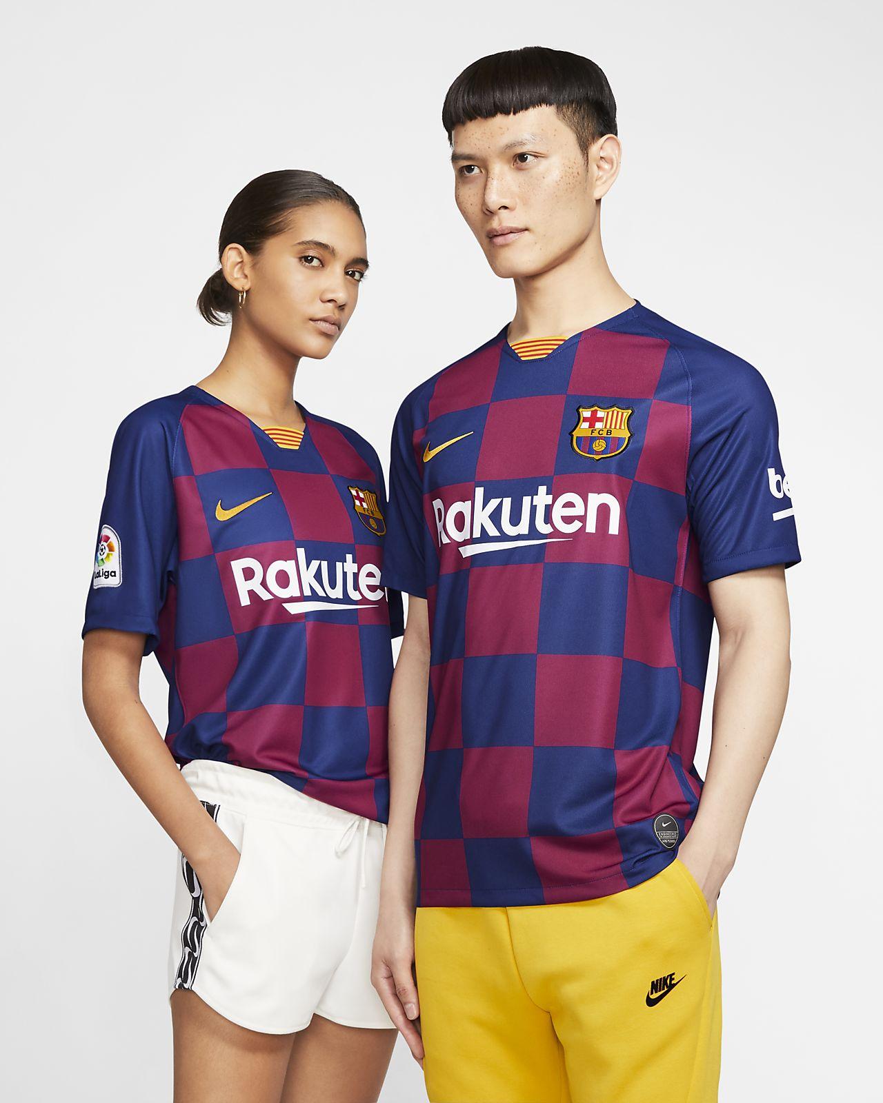 F.C. Barcelona 2019/20 Stadium Home Men's Football Shirt
