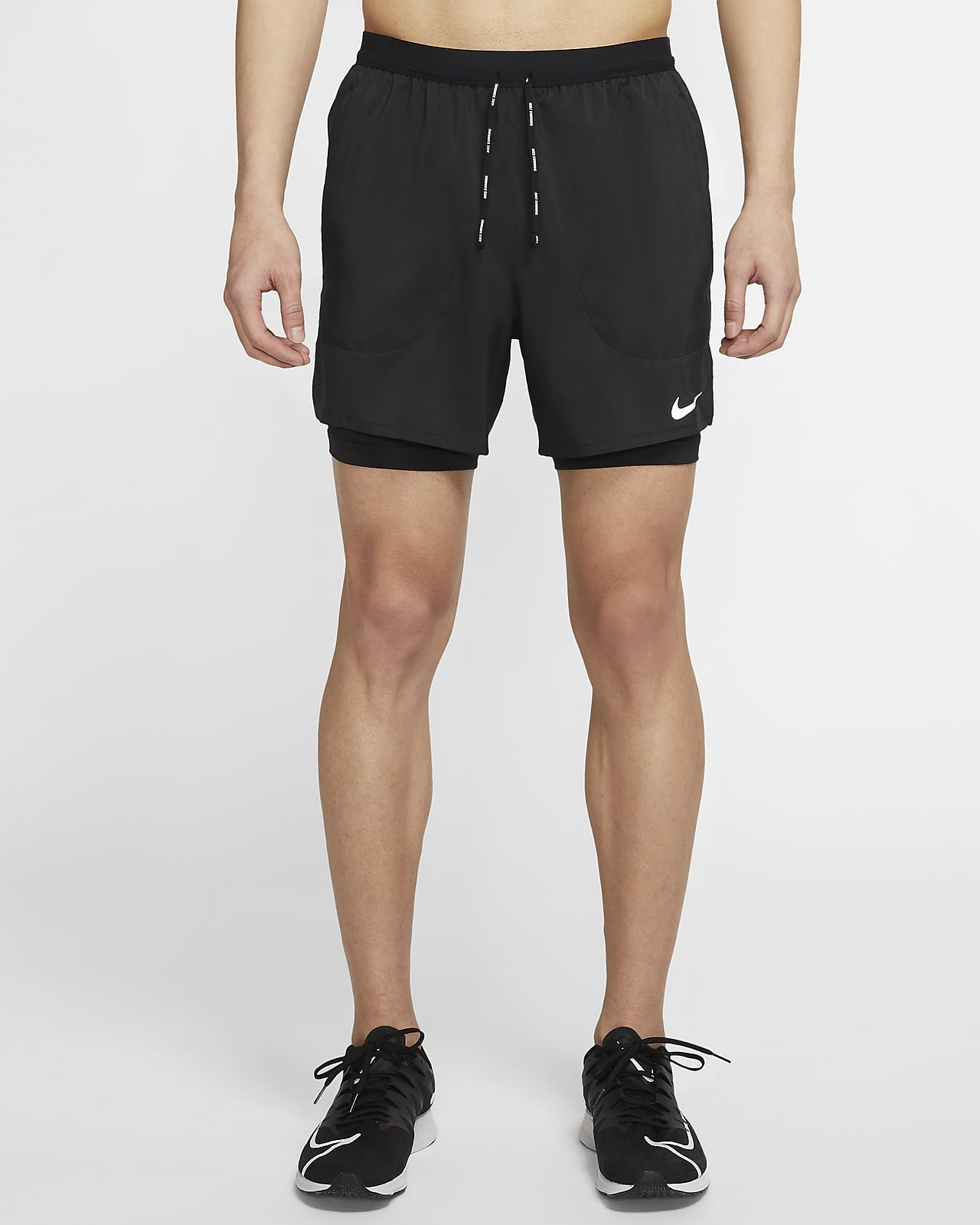 "Nike Flex Stride 男款 5"" 2-In-1 跑步短褲"