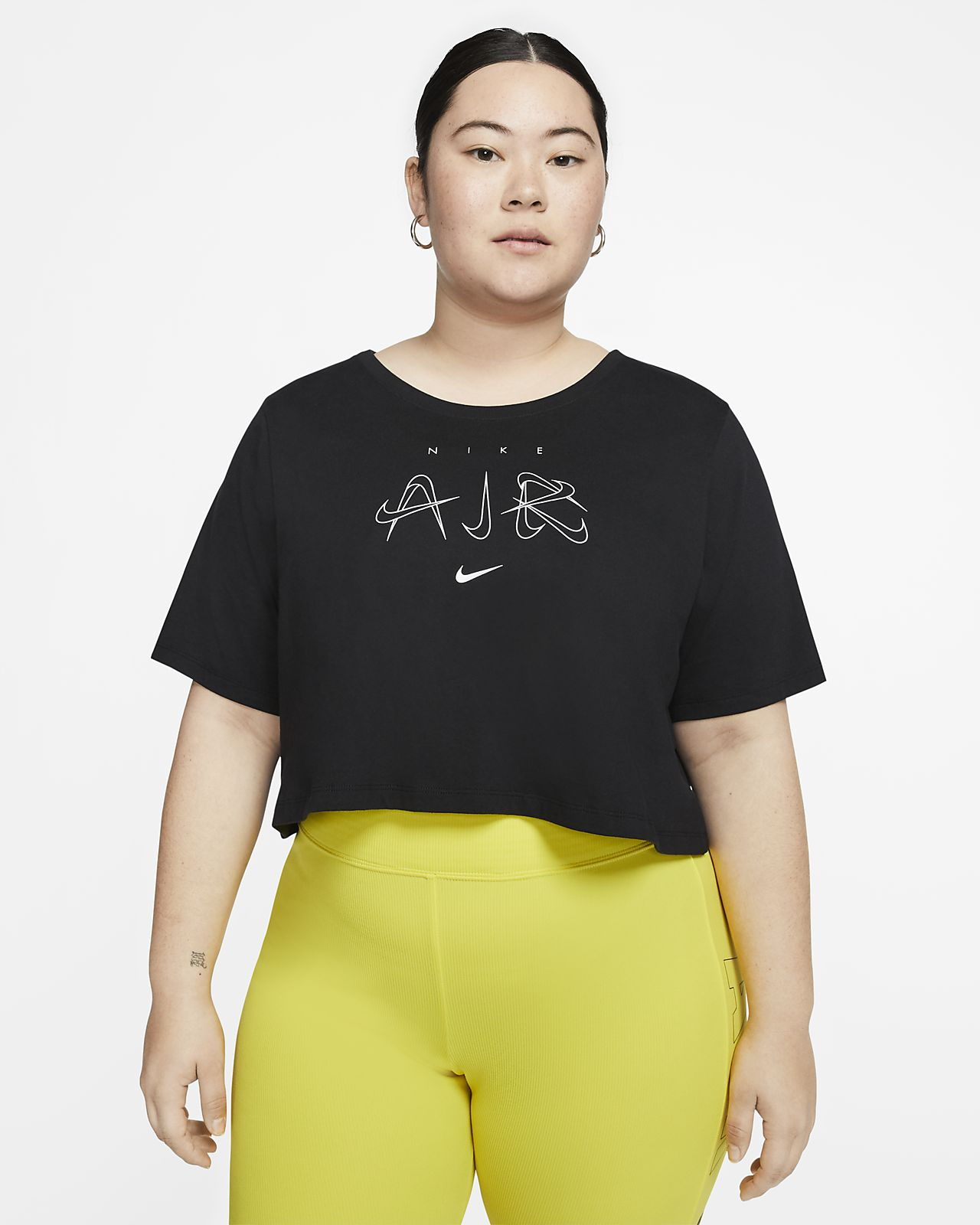 Tee-shirt court Nike Sportswear Luxe pour Femme (grande taille)