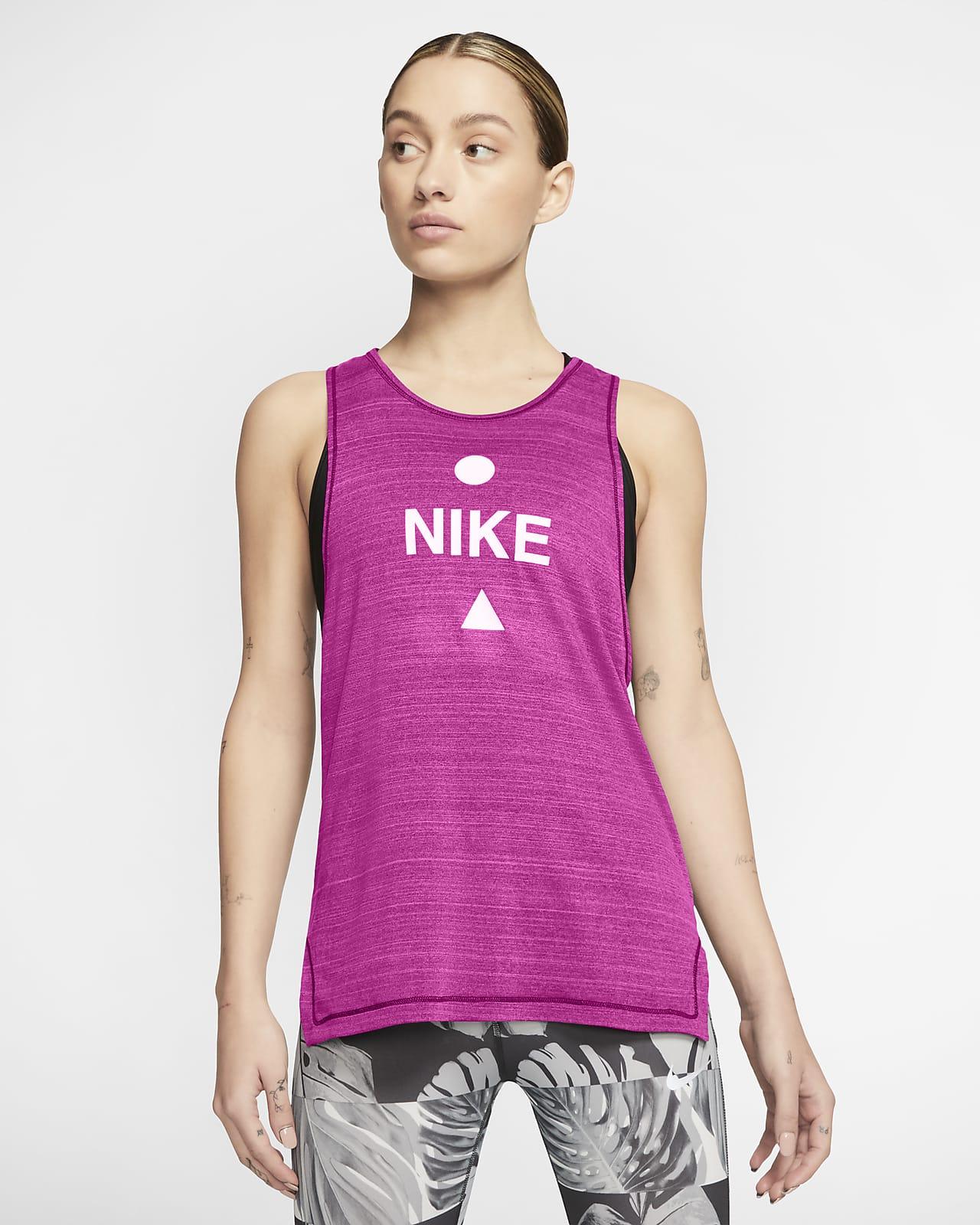 Nike Icon Clash Samarreta de tirants de running - Dona