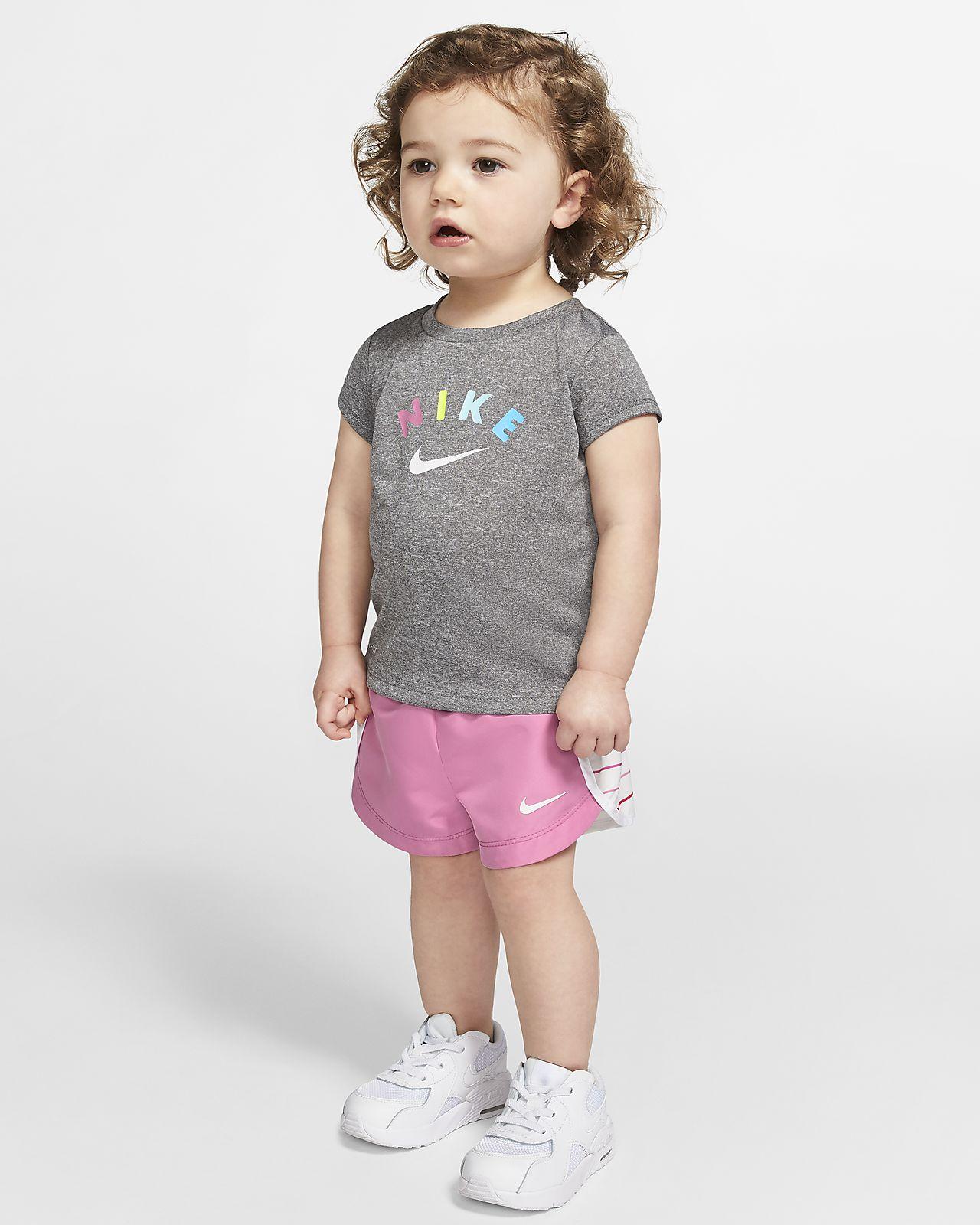 Nike Dri-FIT Baby (12–24M) T-Shirt and Shorts Set