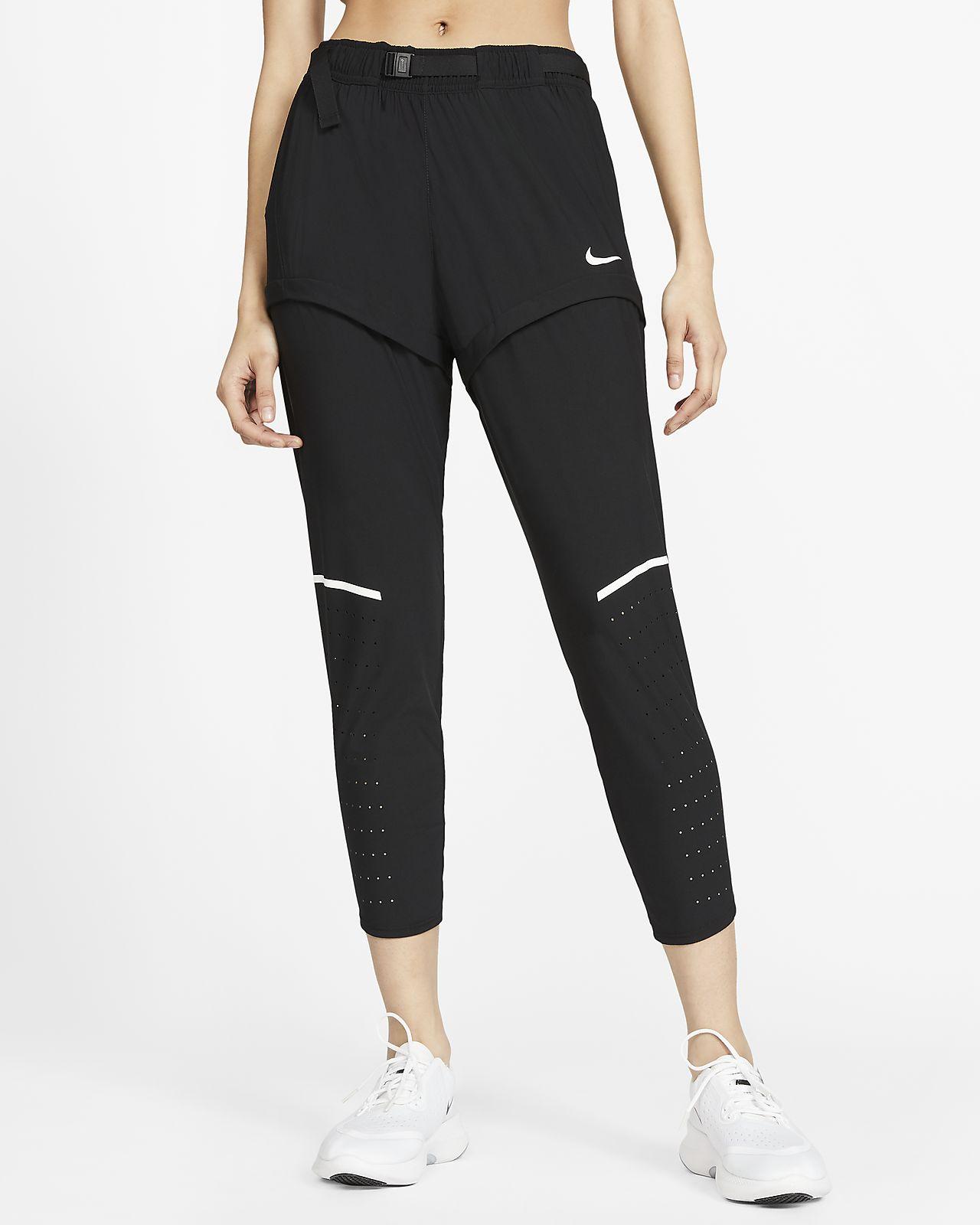 กางเกงวิ่งผู้หญิง 7/8 ส่วน Nike Icon Clash