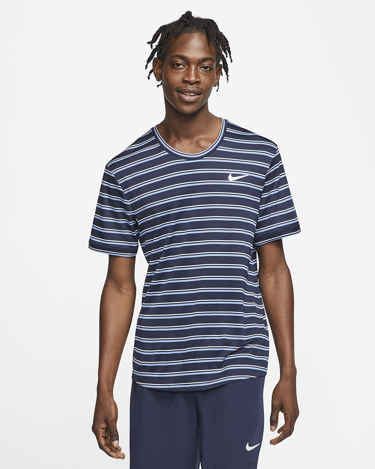 NikeCourt Dri-FIT Men's Graphic Tennis Top