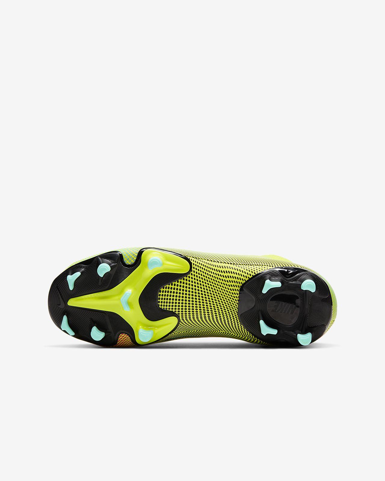Nike Jr. Mercurial Superfly 7 Elite FG fotballsko til gress til barn