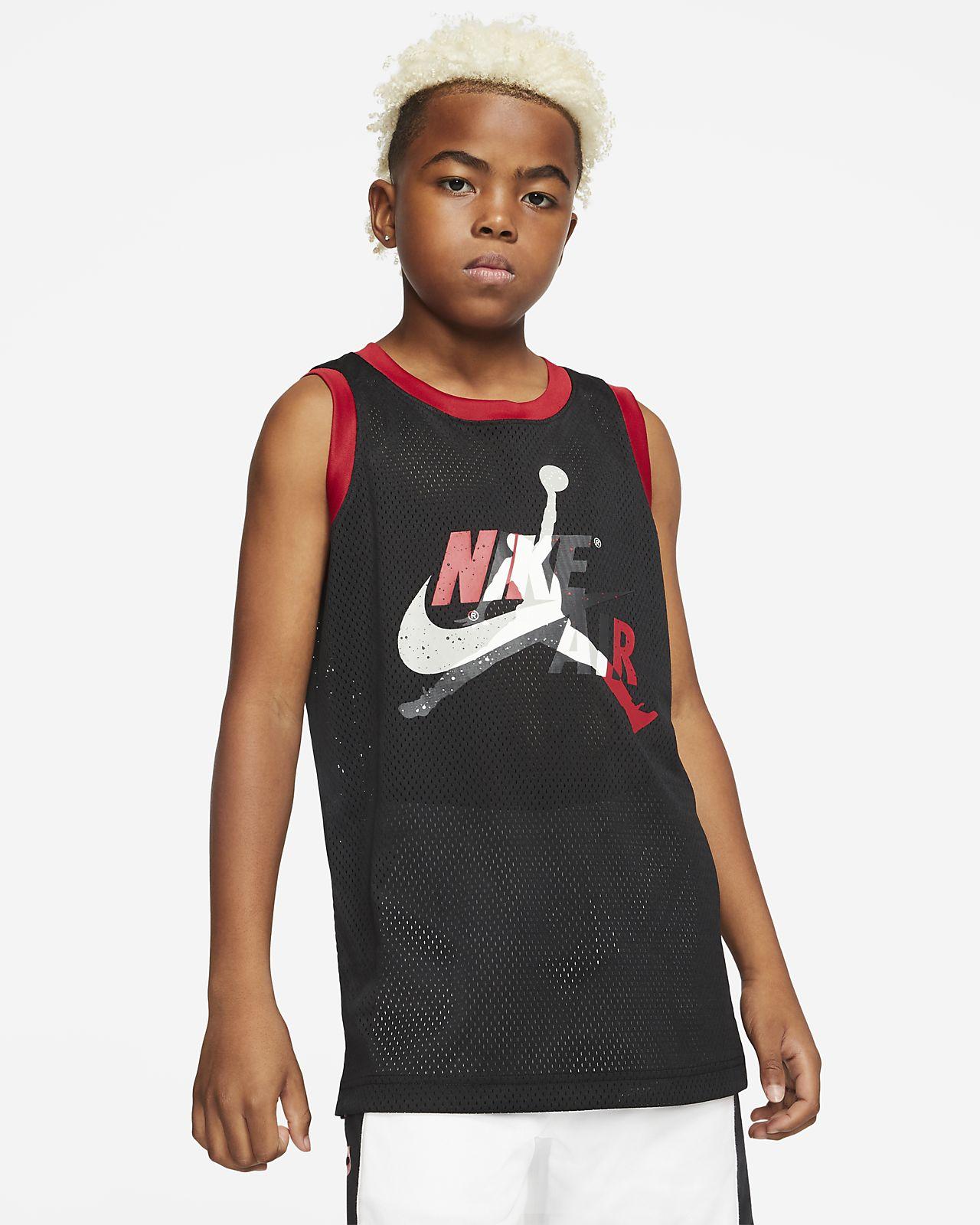 Jordan Jumpman Classics Big Kids' (Boys') Top