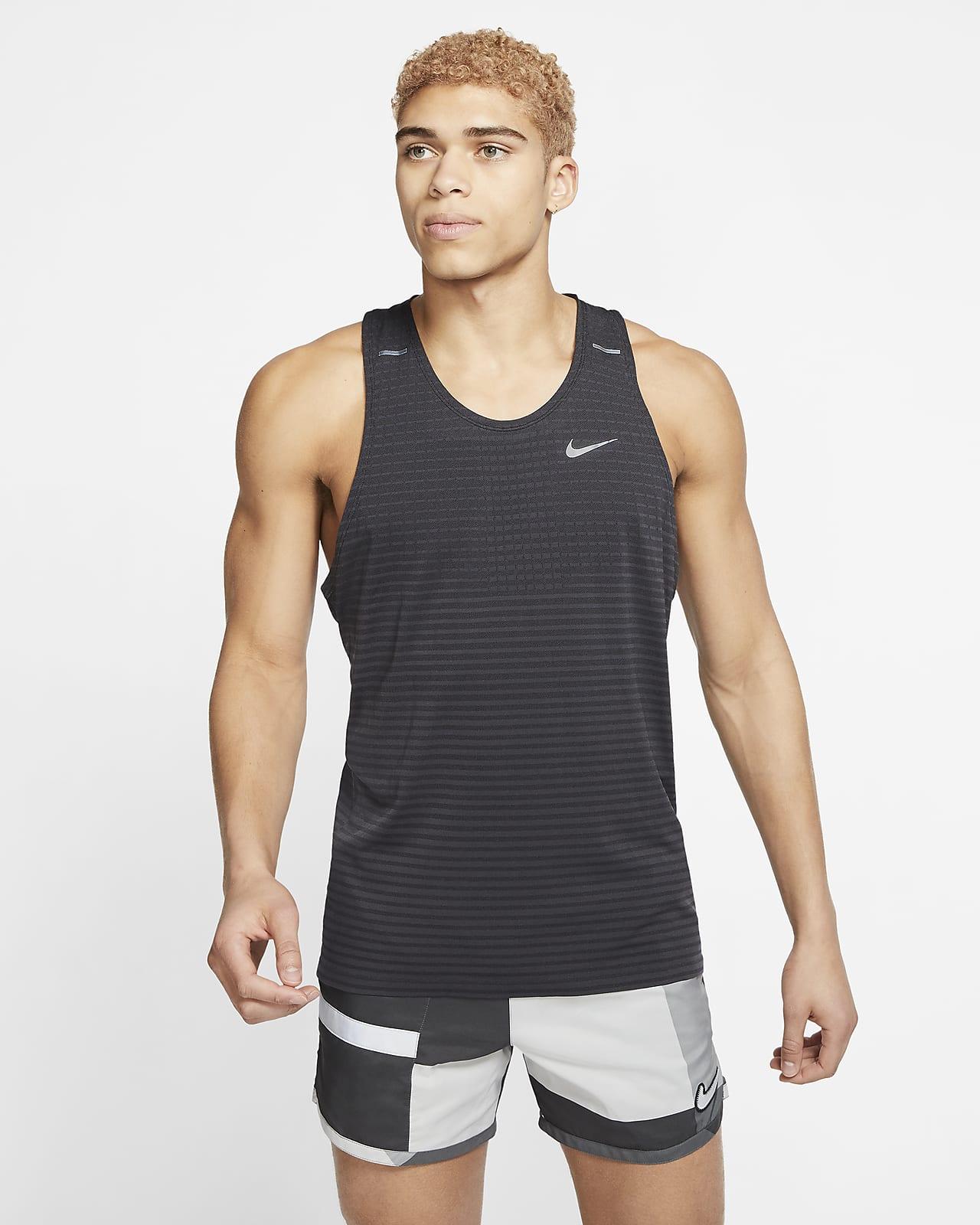 Ανδρικό φανελάκι για τρέξιμο Nike Techknit Ultra