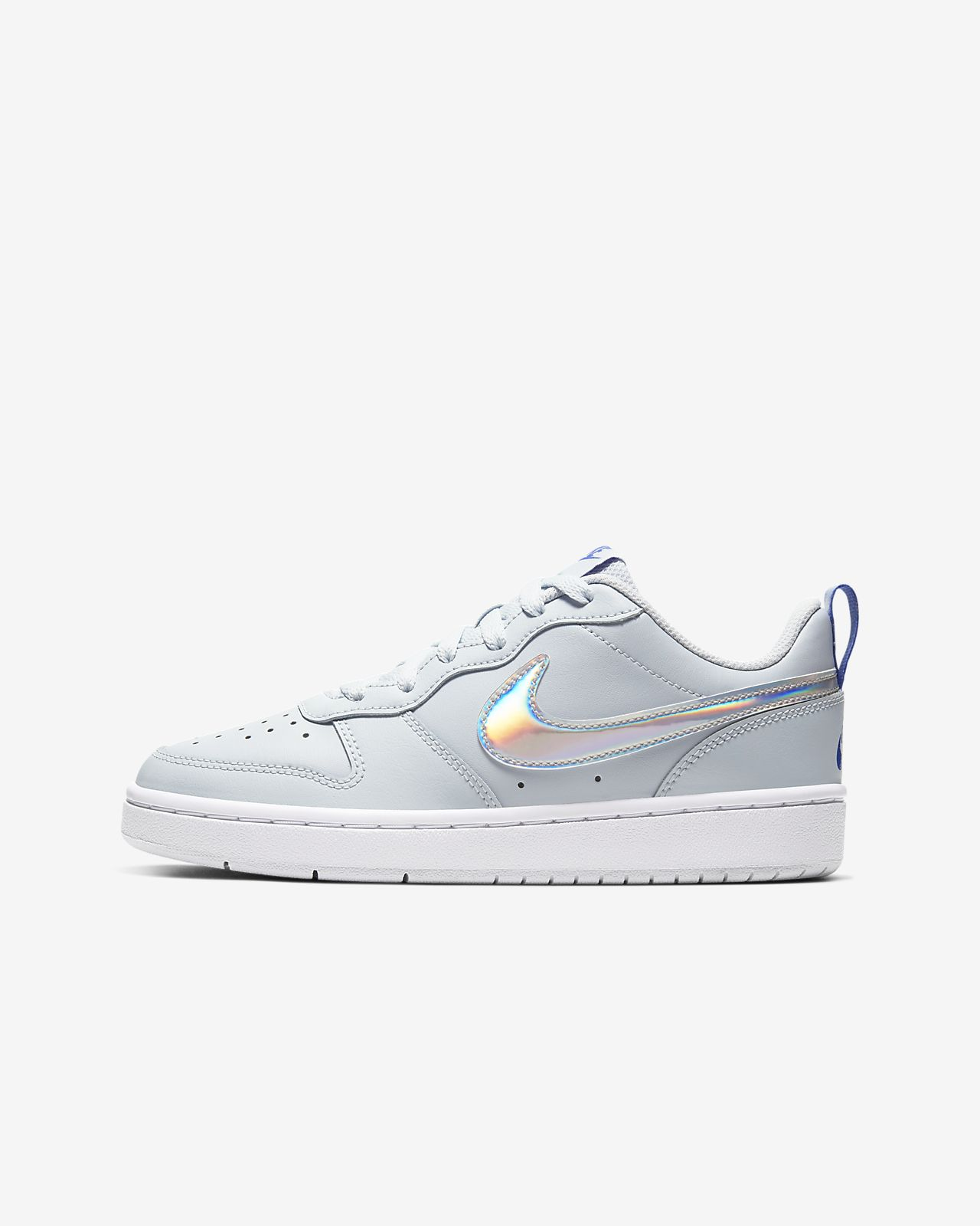 Nike Court Borough Low 2 FP Big Kids' Shoe