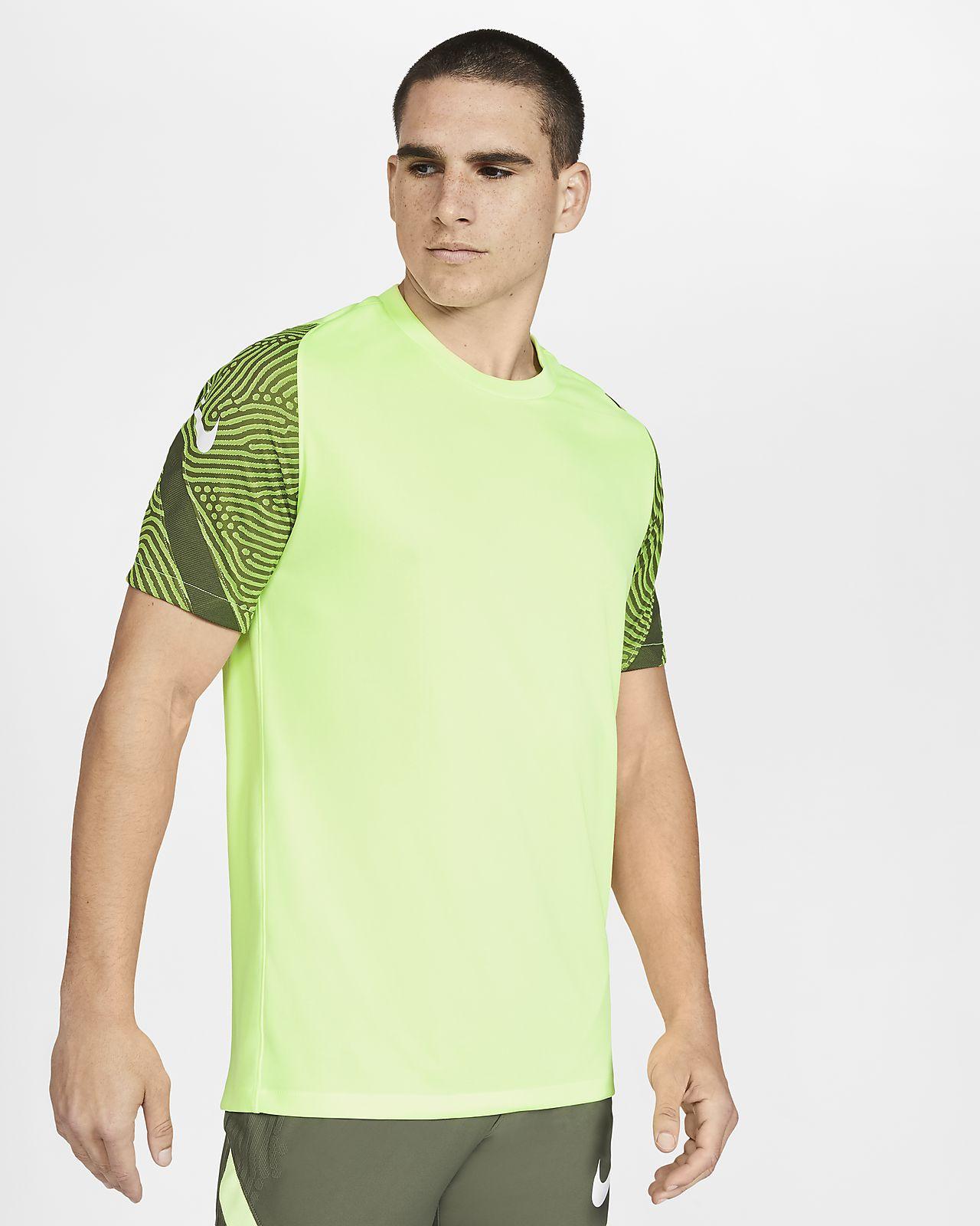 Kortärmad fotbollströja Nike Dri-FIT Strike för män