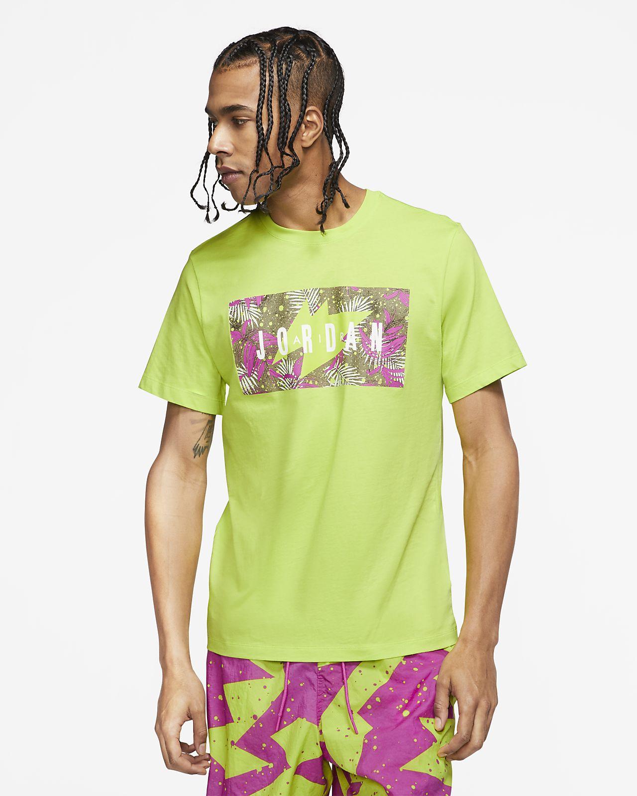 Jordan Poolside Camiseta con estampado floral
