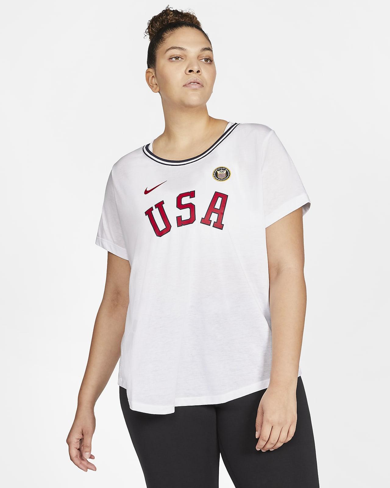 Nike Team USA Women's T-Shirt (Plus Size)