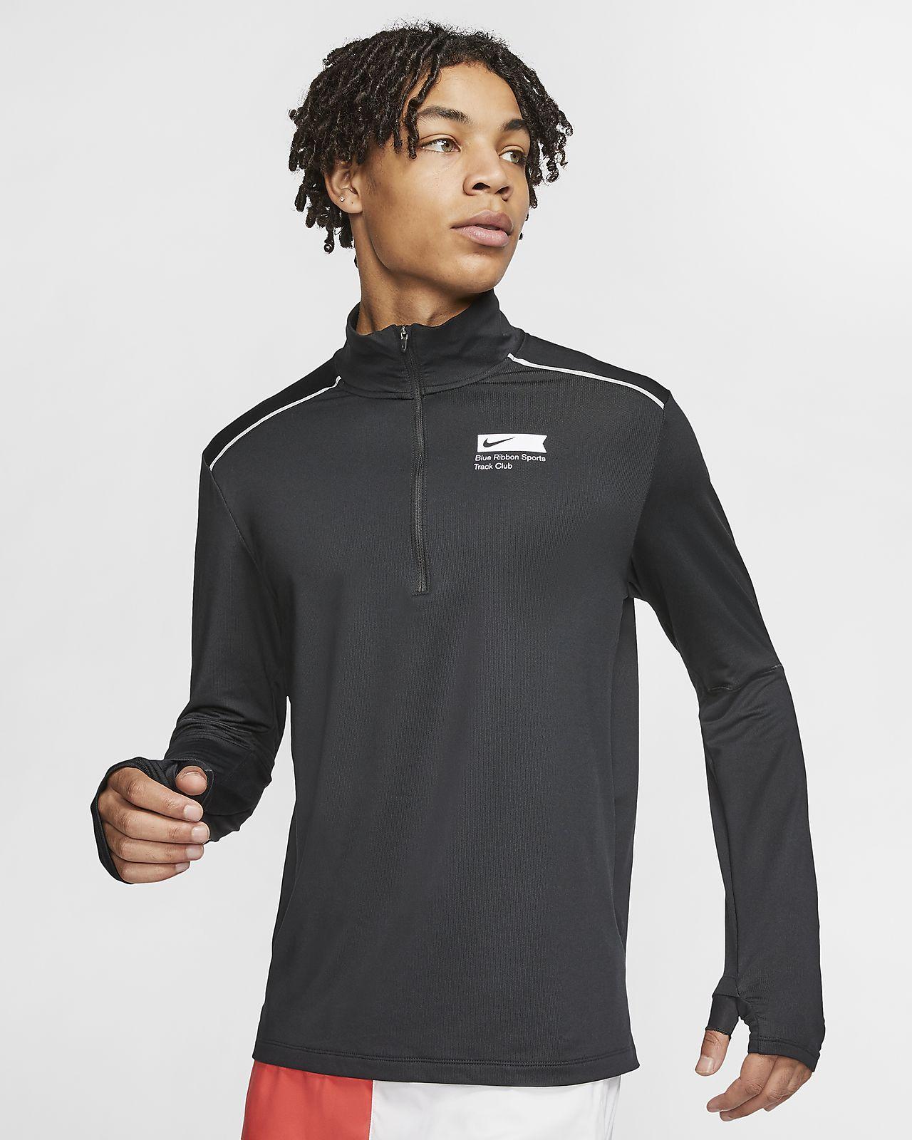 Maglia da running con zip a metà lunghezza Nike Blue Ribbon Sports - Uomo