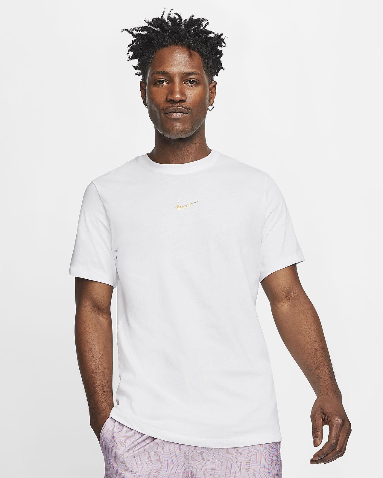 T-shirt com Swoosh Nike Sportswear para homem