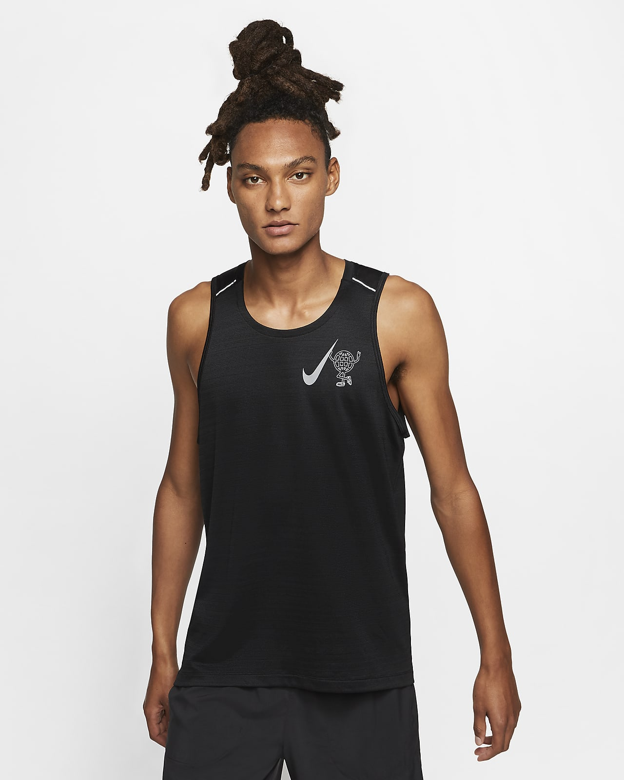 Nike Dri-FIT Miler Wild Run Men's Running Tank