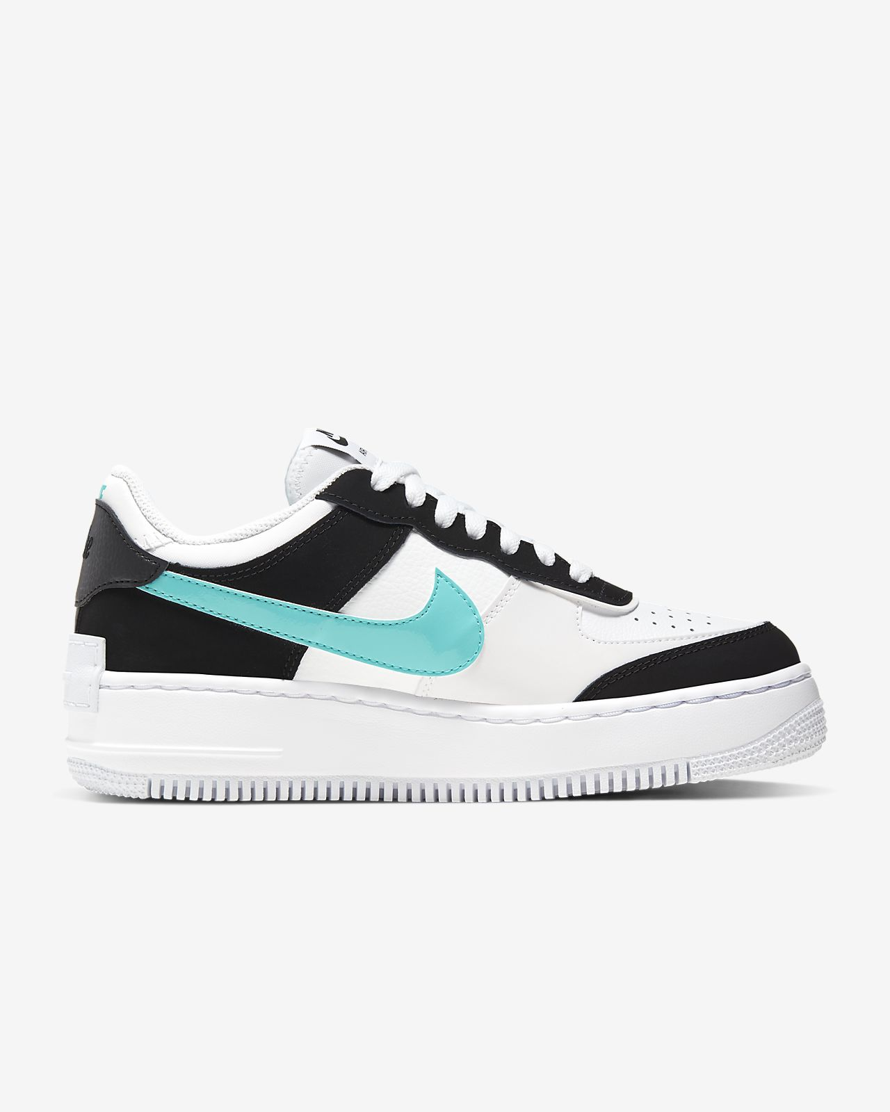 air force 1 shadow blanche femme