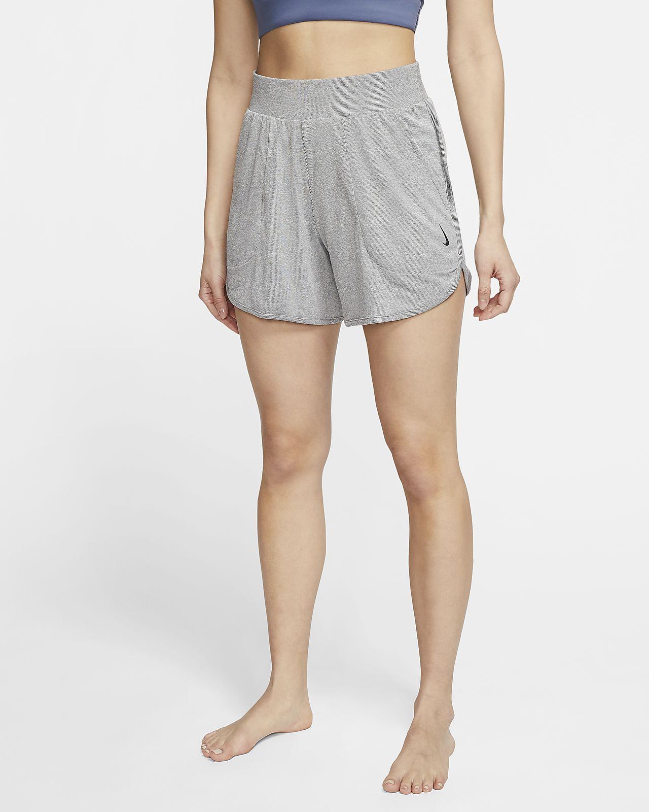 Nike Yoga 女款羅紋短褲