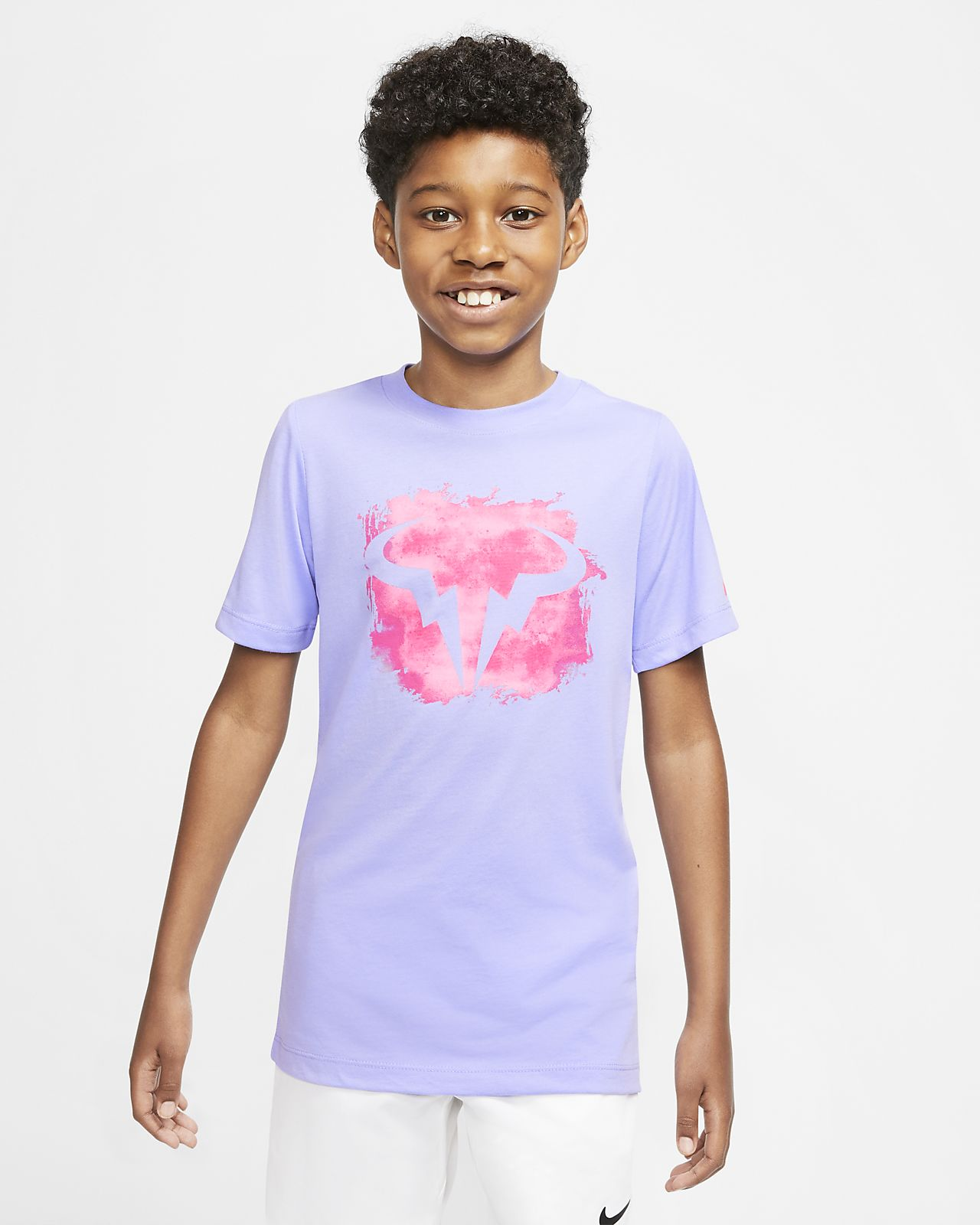 NikeCourt Dri-FIT Rafa Big Kids' (Boys') Tennis T-Shirt