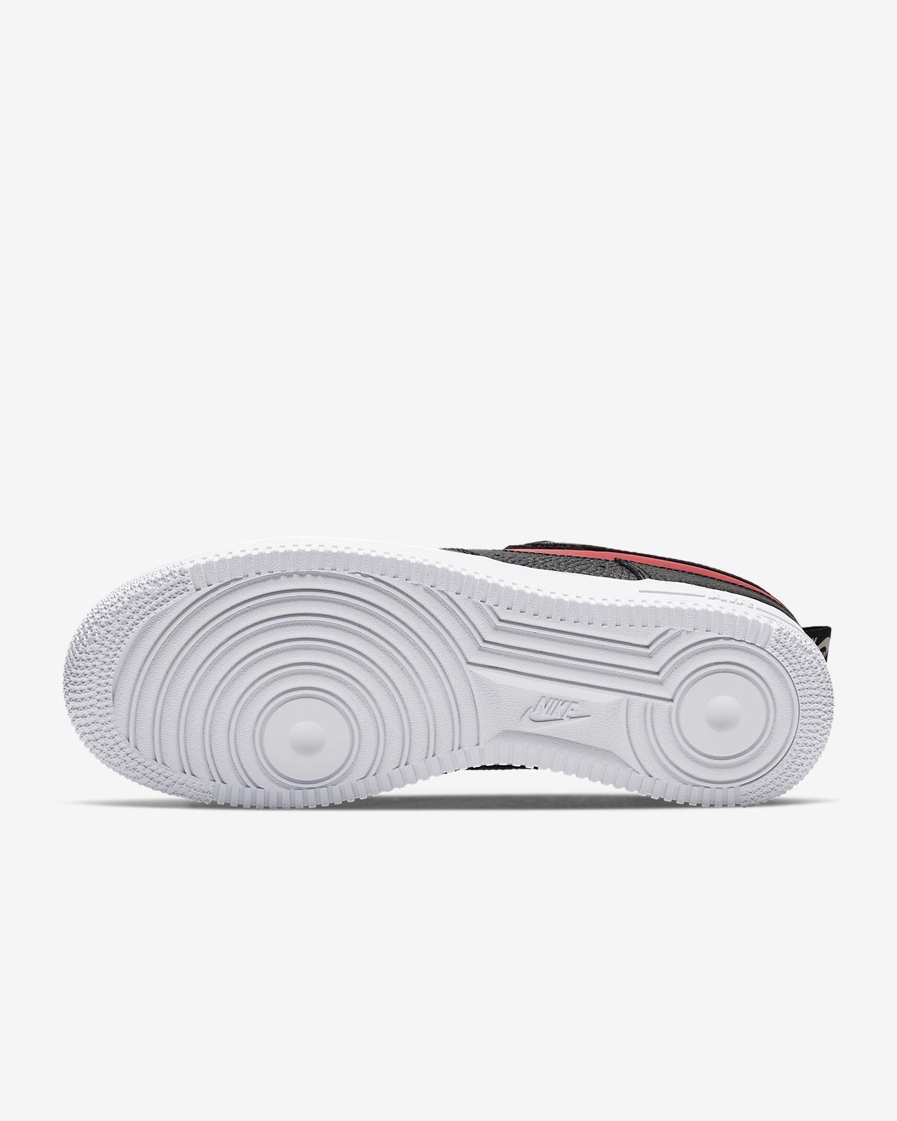 Nike Air Force 1 LV8 2 shoes maroon maroon black