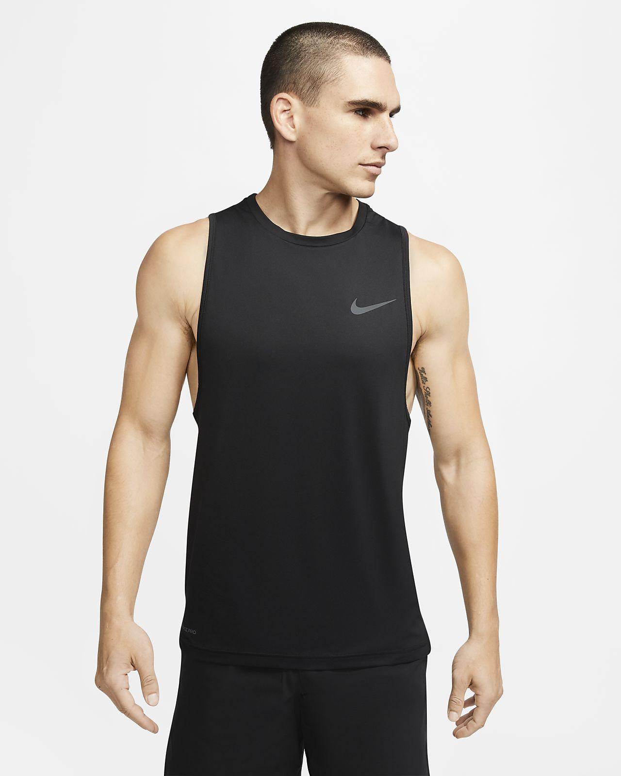 Męska koszulka treningowa bez rękawów