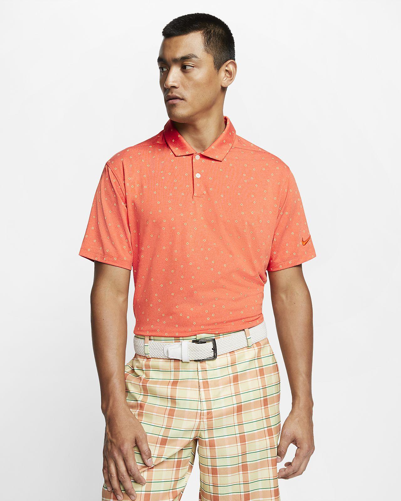 Polo de golf imprimé Nike Dri-FIT Vapor pour Homme