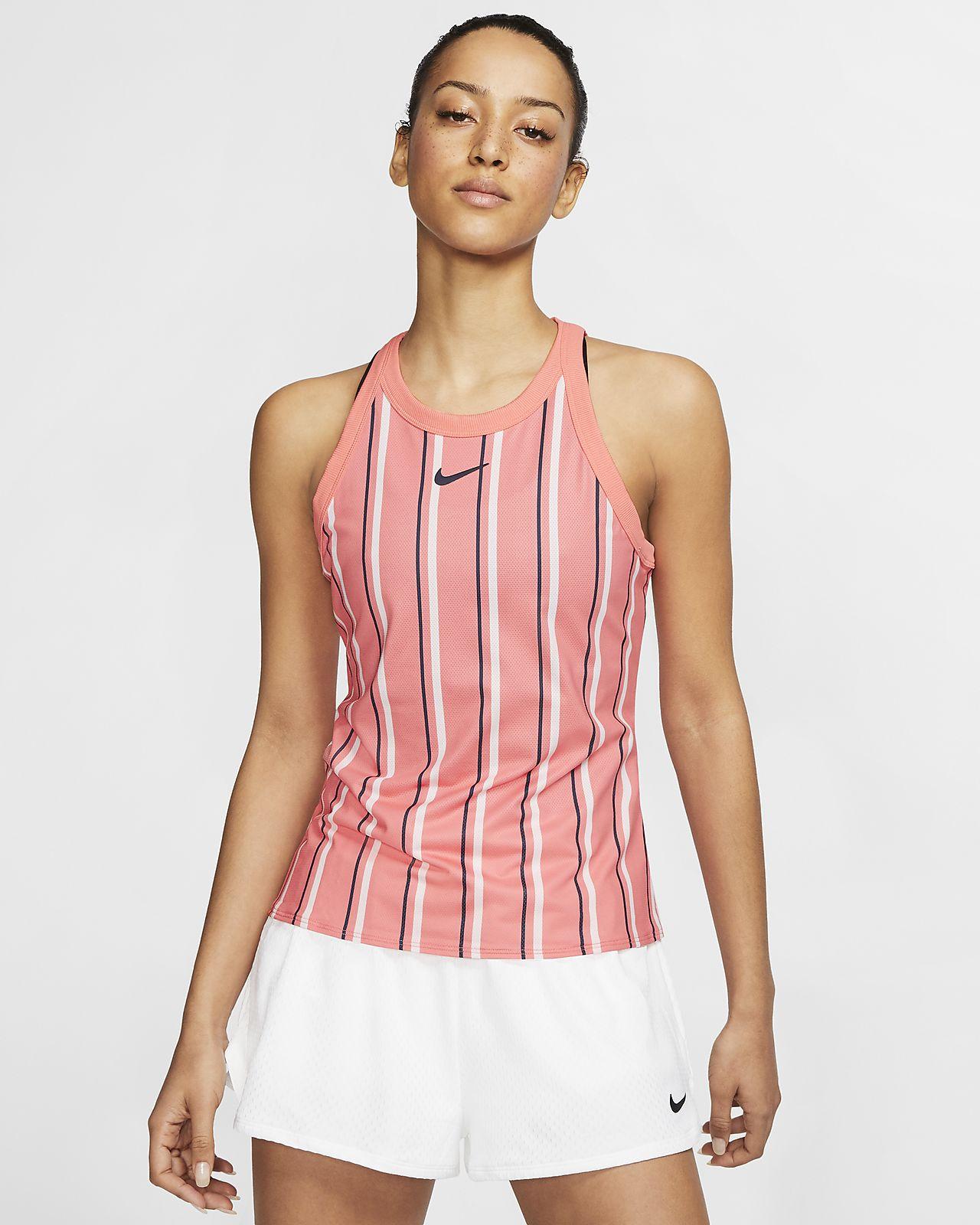 Débardeur de tennis imprimé NikeCourt Dri-FIT pour Femme