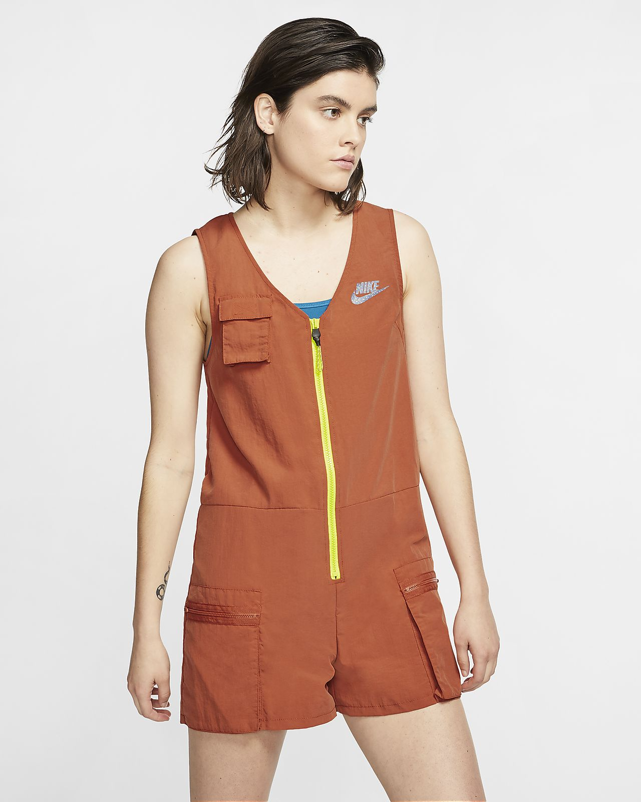 Combishort Nike Sportswear Icon Clash pour Femme