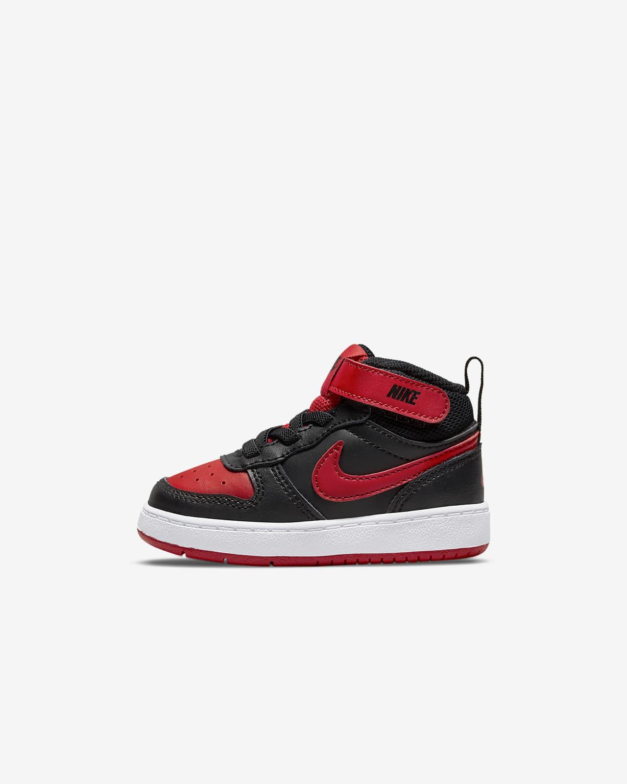 NikeCourt Borough Mid 2-sko til babyer/småbørn