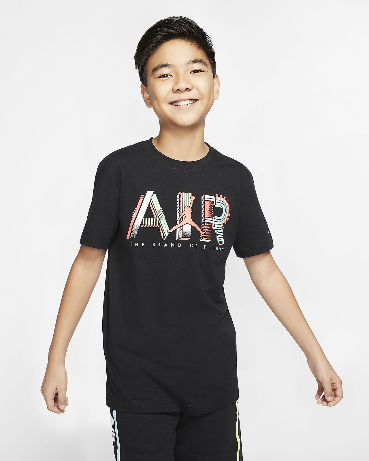 大男孩t恤短袖_Air Jordan 大童(男孩)T恤-耐克(Nike)中国官网
