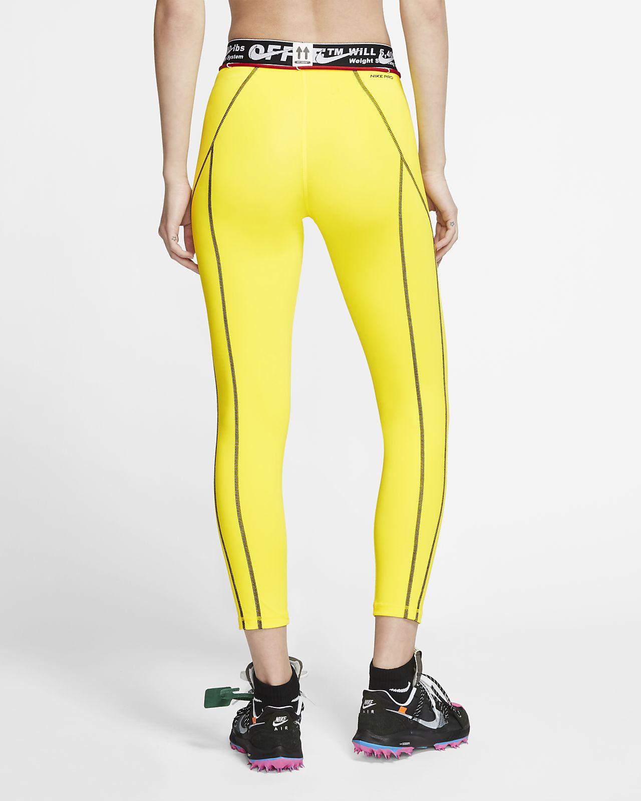 Nike x Off White™ Pro tights til kvinder