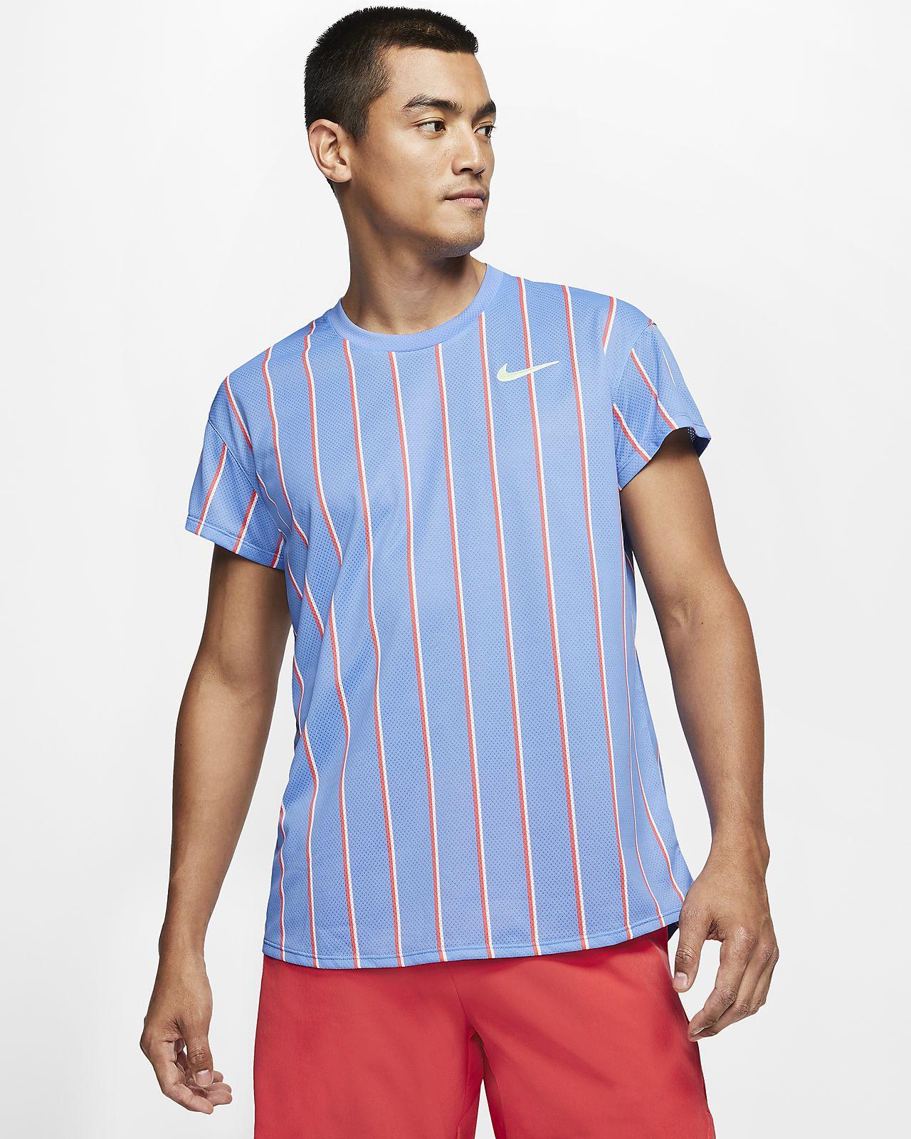 NikeCourt Slam Men's Short-Sleeve Tennis Top