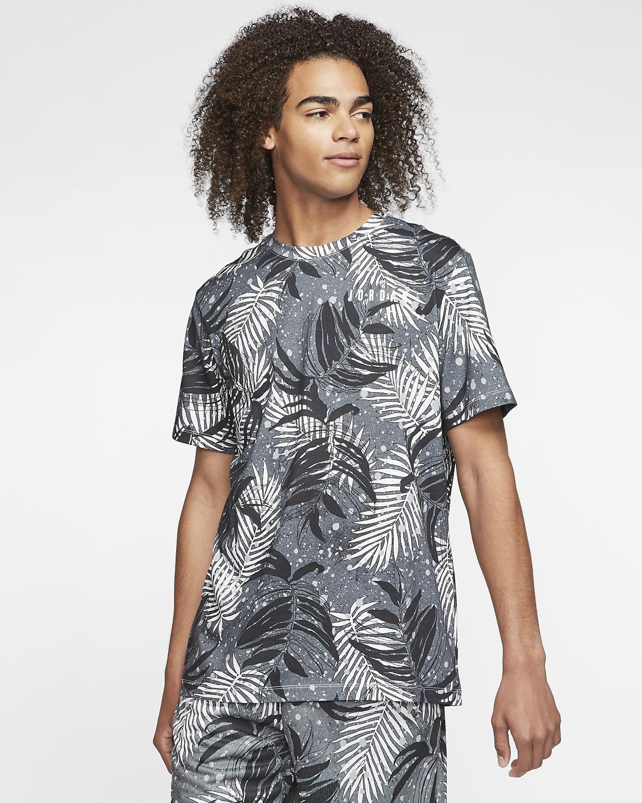 Jordan Poolside-Crewtrøje med print til mænd