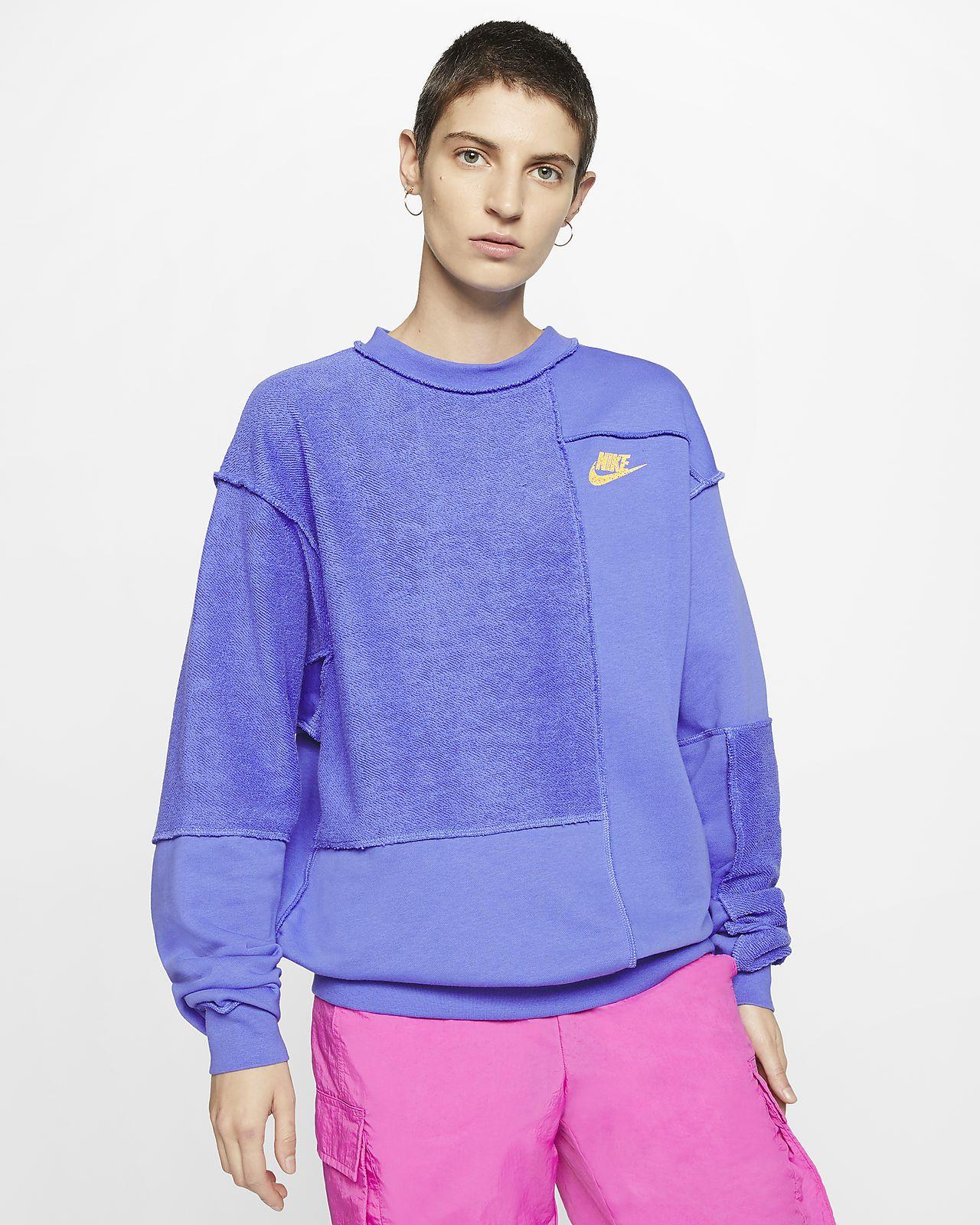 Γυναικείο φλις crew Nike Sportswear Icon Clash
