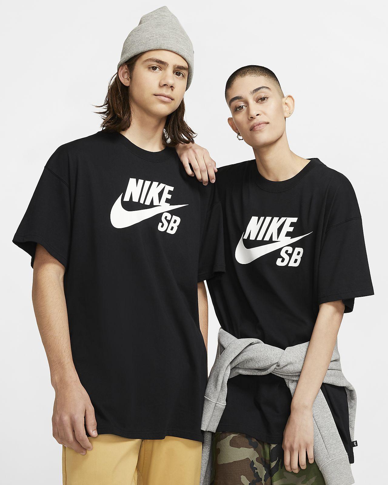 T shirt da skateboard con logo Nike SB