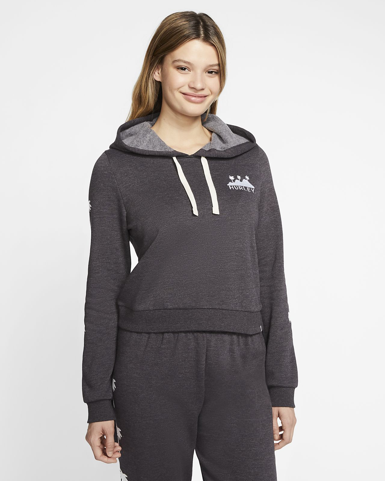 Hurley Lost Horizons Perfect Women's Cropped Fleece Pullover