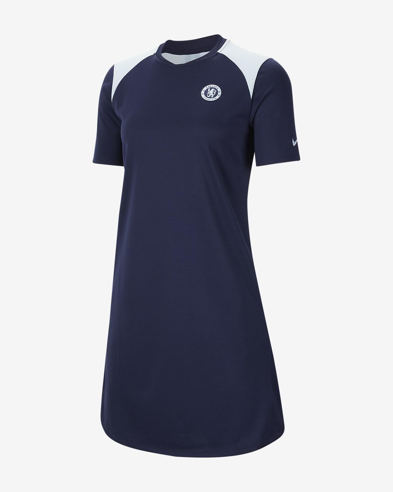 Robe de football en jersey Chelsea FC pour Femme