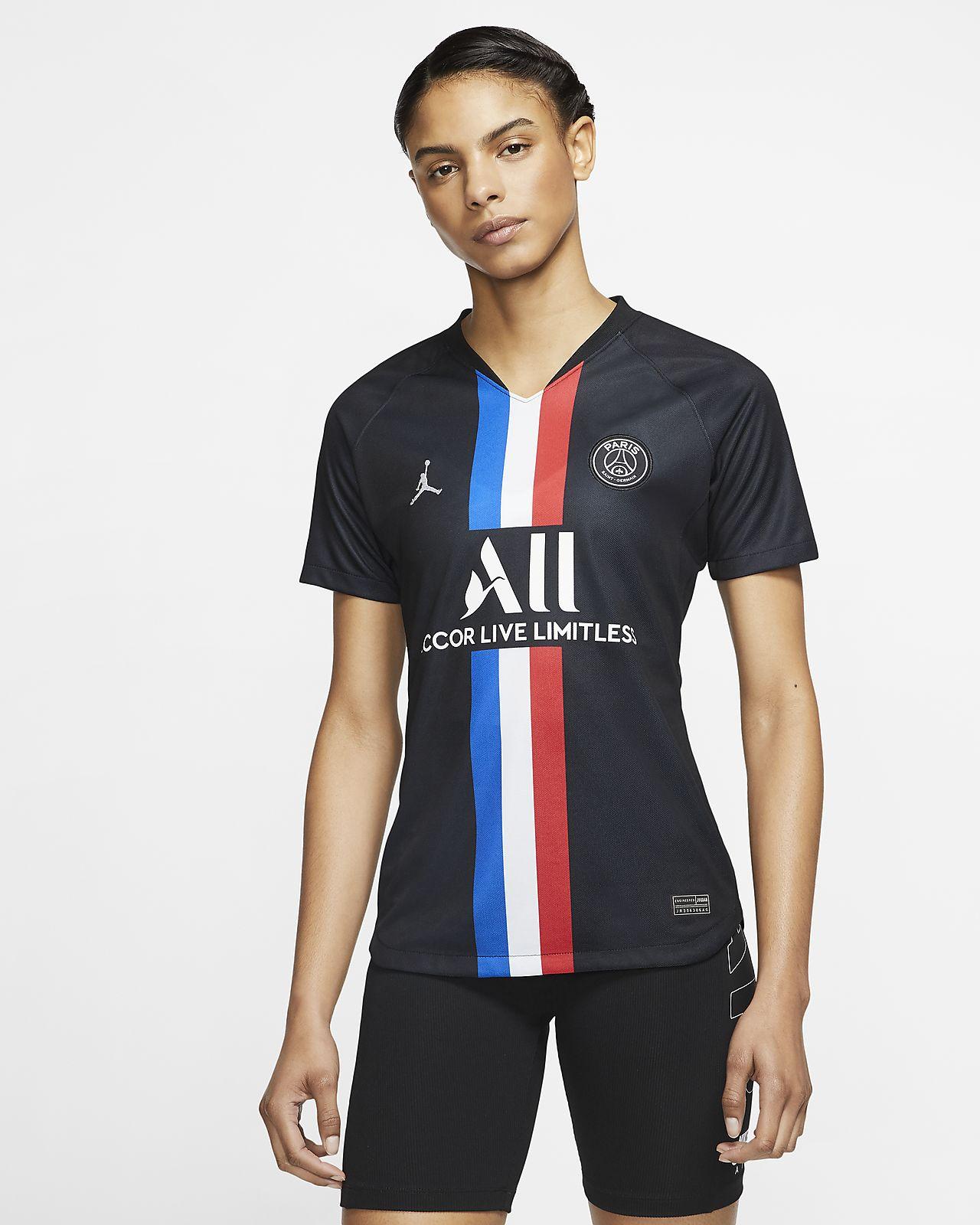 Jordan x Paris Saint-Germain 2019/20 Stadium Fourth 女款足球球衣