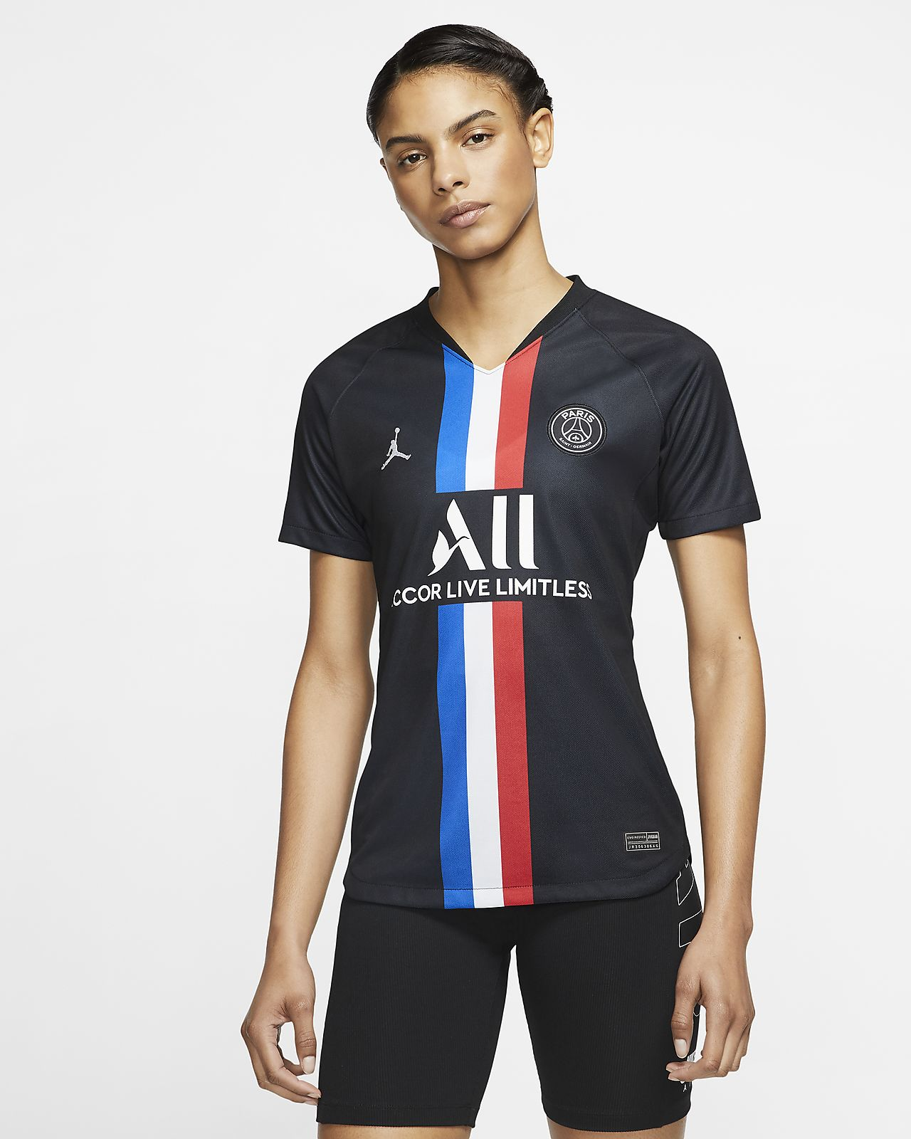 Jordan x Paris Saint-Germain 2019/20 Stadium Fourth Women's Football Shirt