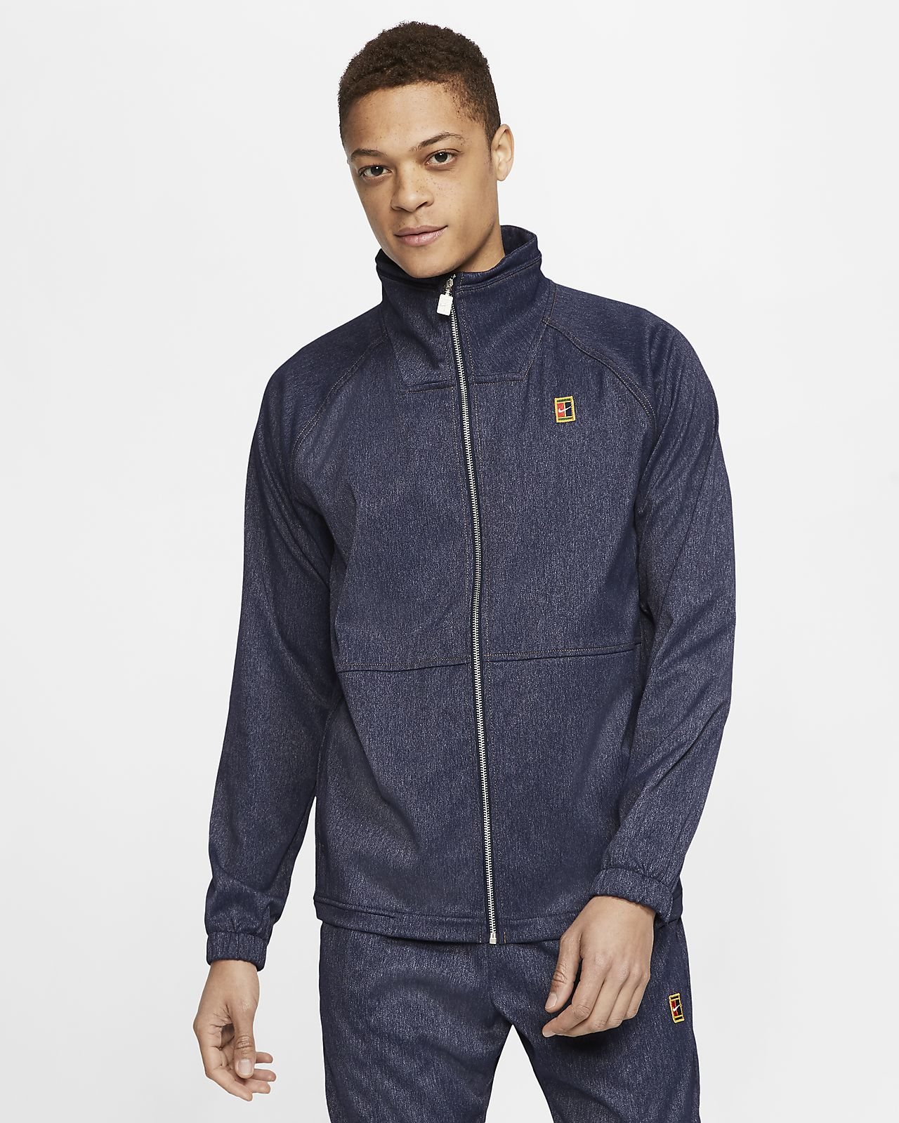 NikeCourt Men's Tennis Warm-Up Jacket