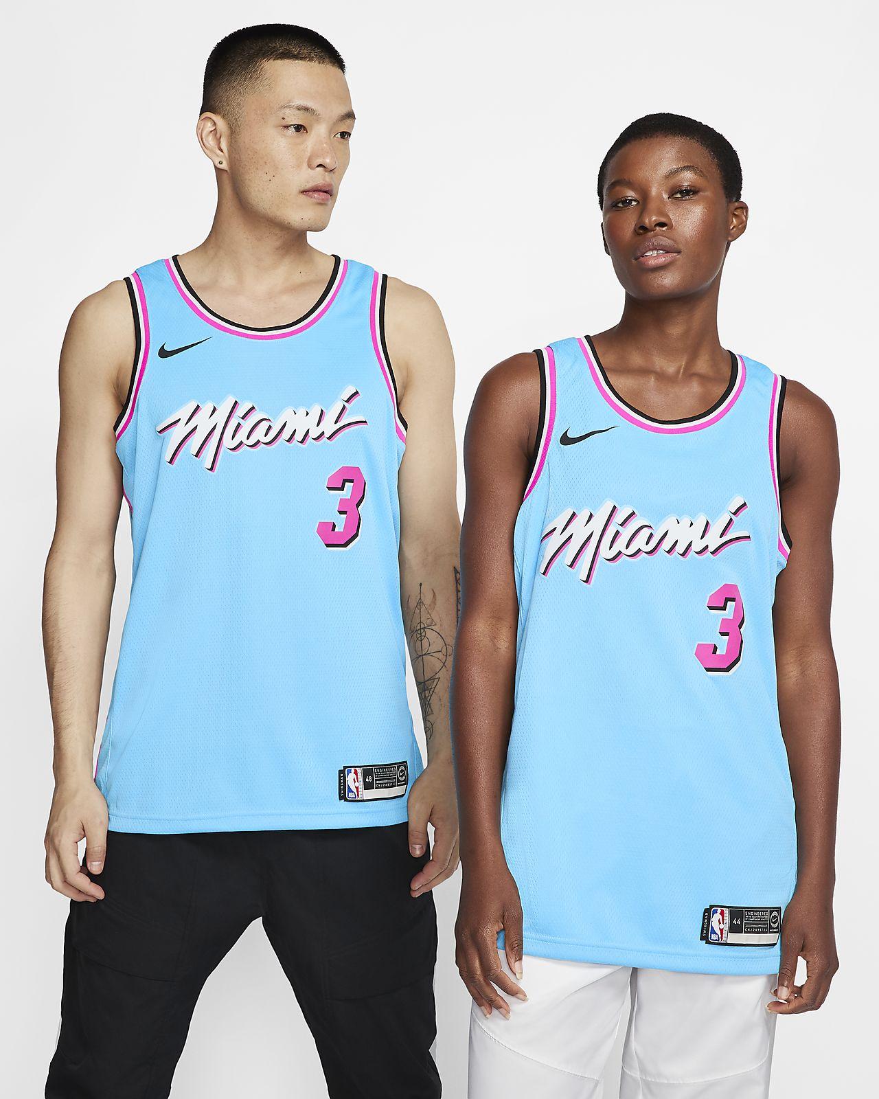 Dwyane Wade Heat – City Edition Nike NBA Swingman Jersey