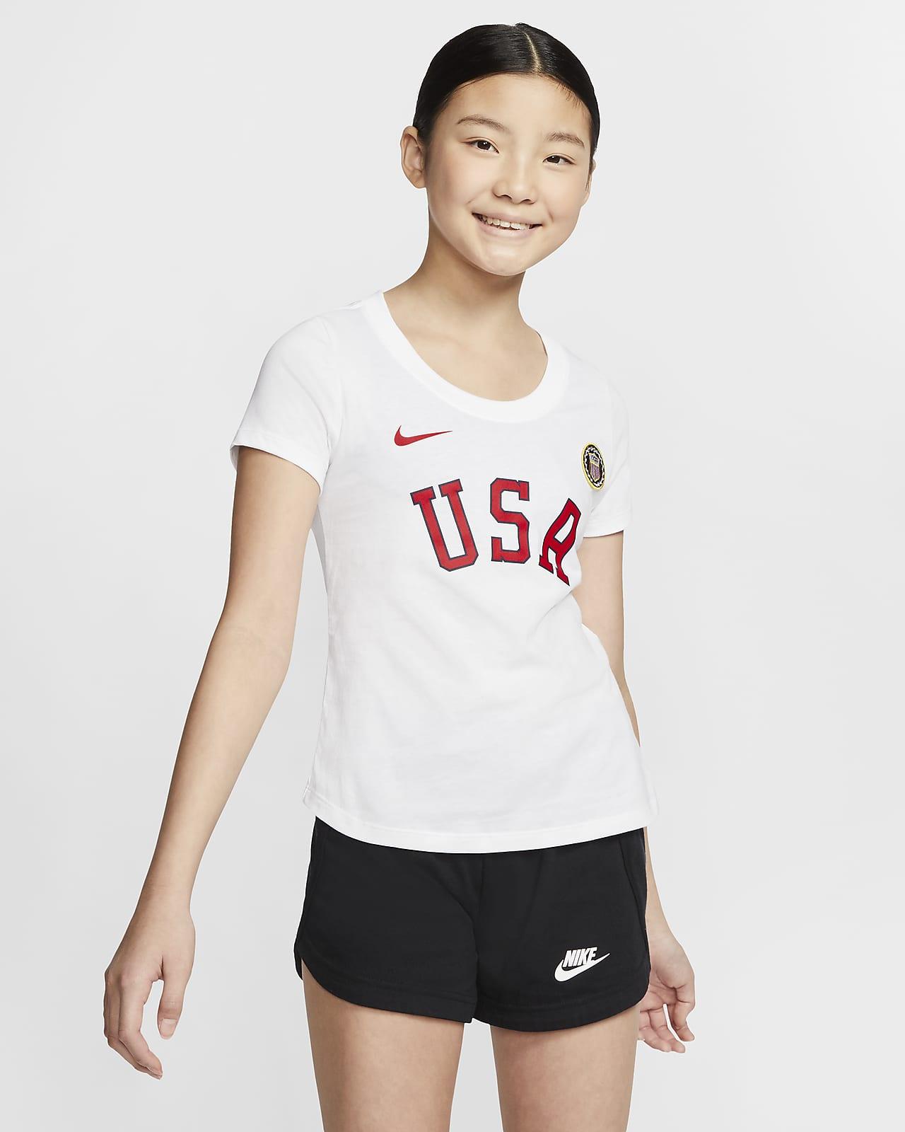 Nike Sportswear Team USA Big Kids' (Girls') T-Shirt