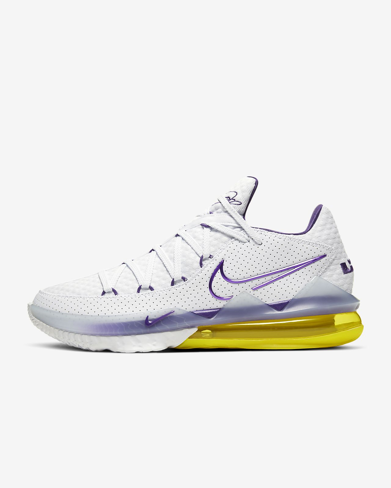 LeBron 17 低筒籃球鞋