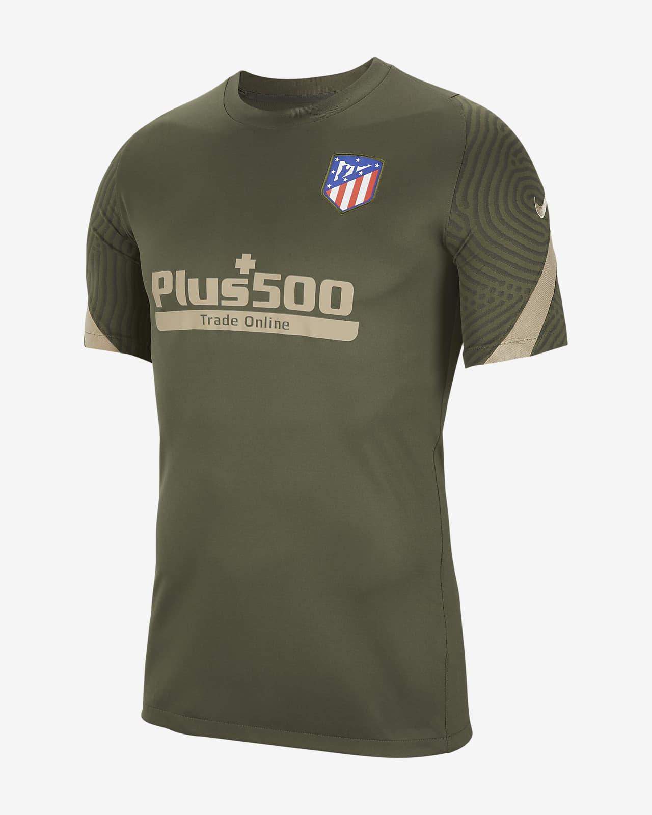 Camiseta de fútbol de manga corta para hombre Atlético de Madrid Strike