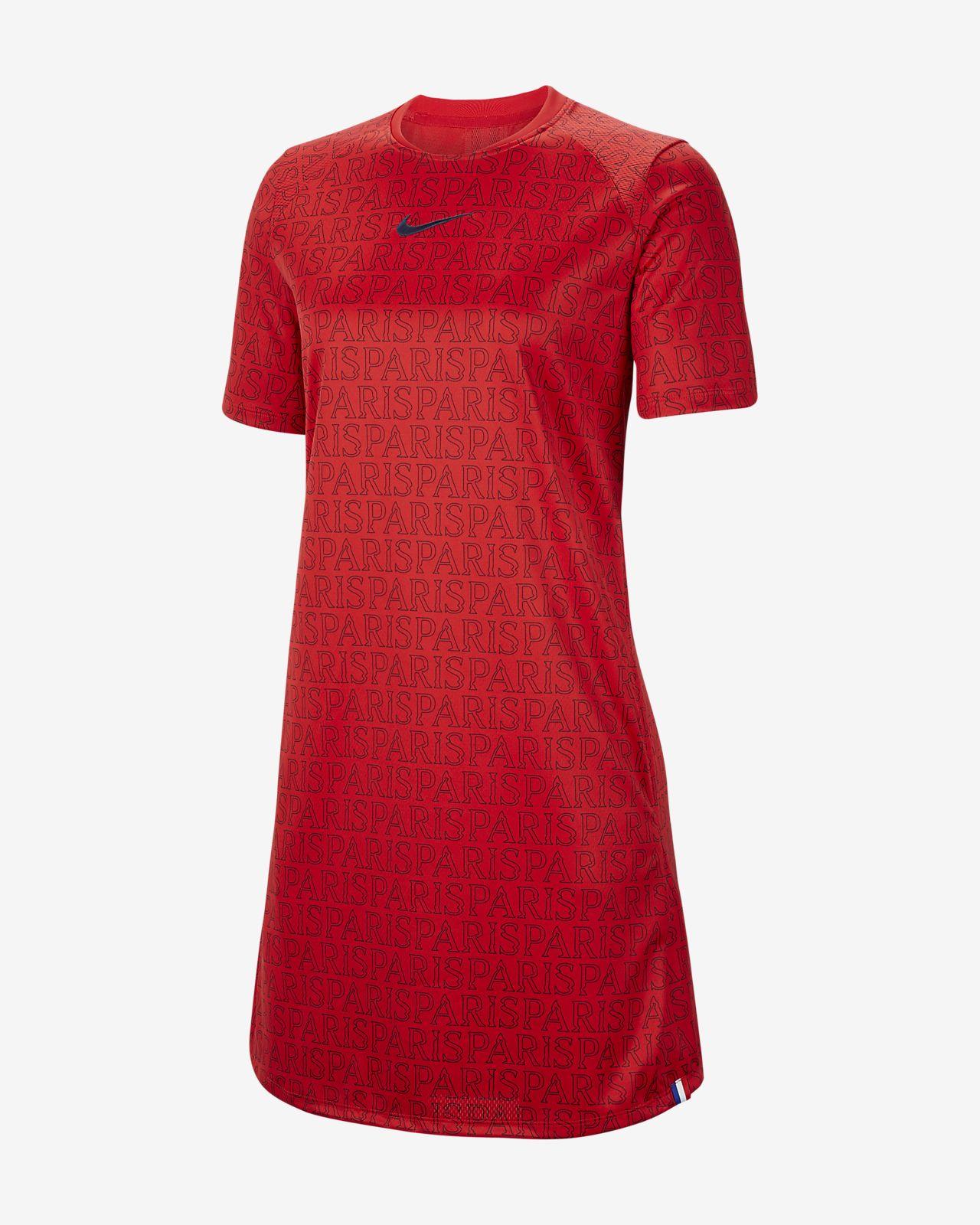 Robe de football en jersey Paris Saint-Germain pour Femme
